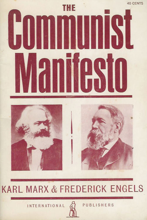 """<i><a href=""""http://www.amazon.com/dp/0717802418/?tag=timecom-20"""" target=""""_blank"""">The Communist Manifesto</a></i>                                   By Karl Marx and Friedrich Engels, 48 pages. The Communist League commissioned Marx and Engels to write this political pamphlet that revolutionized the way the world thought about class and capital."""