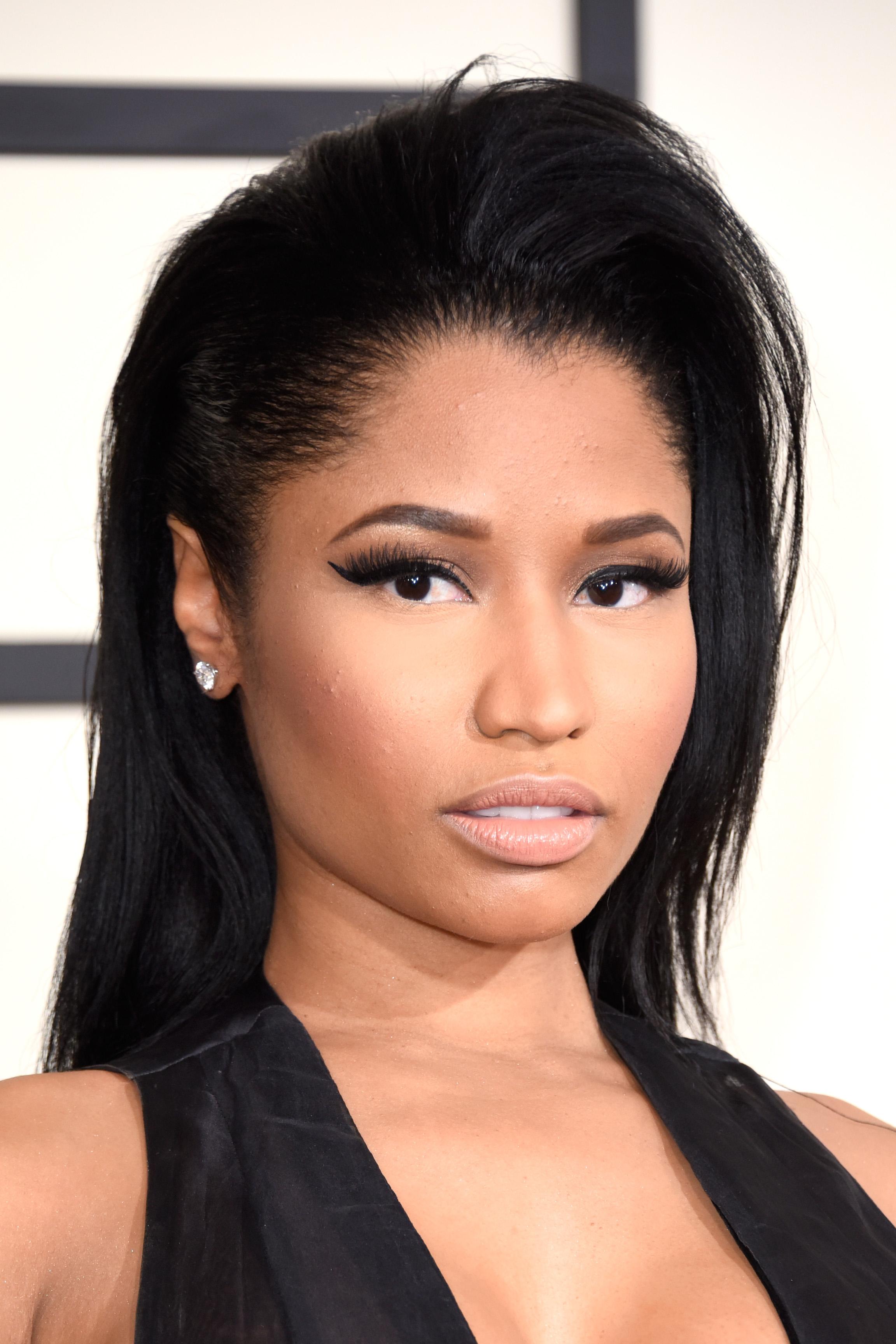 Nicki Minaj attends The 57th Annual GRAMMY Awards on Feb. 8, 2015 in Los Angeles.