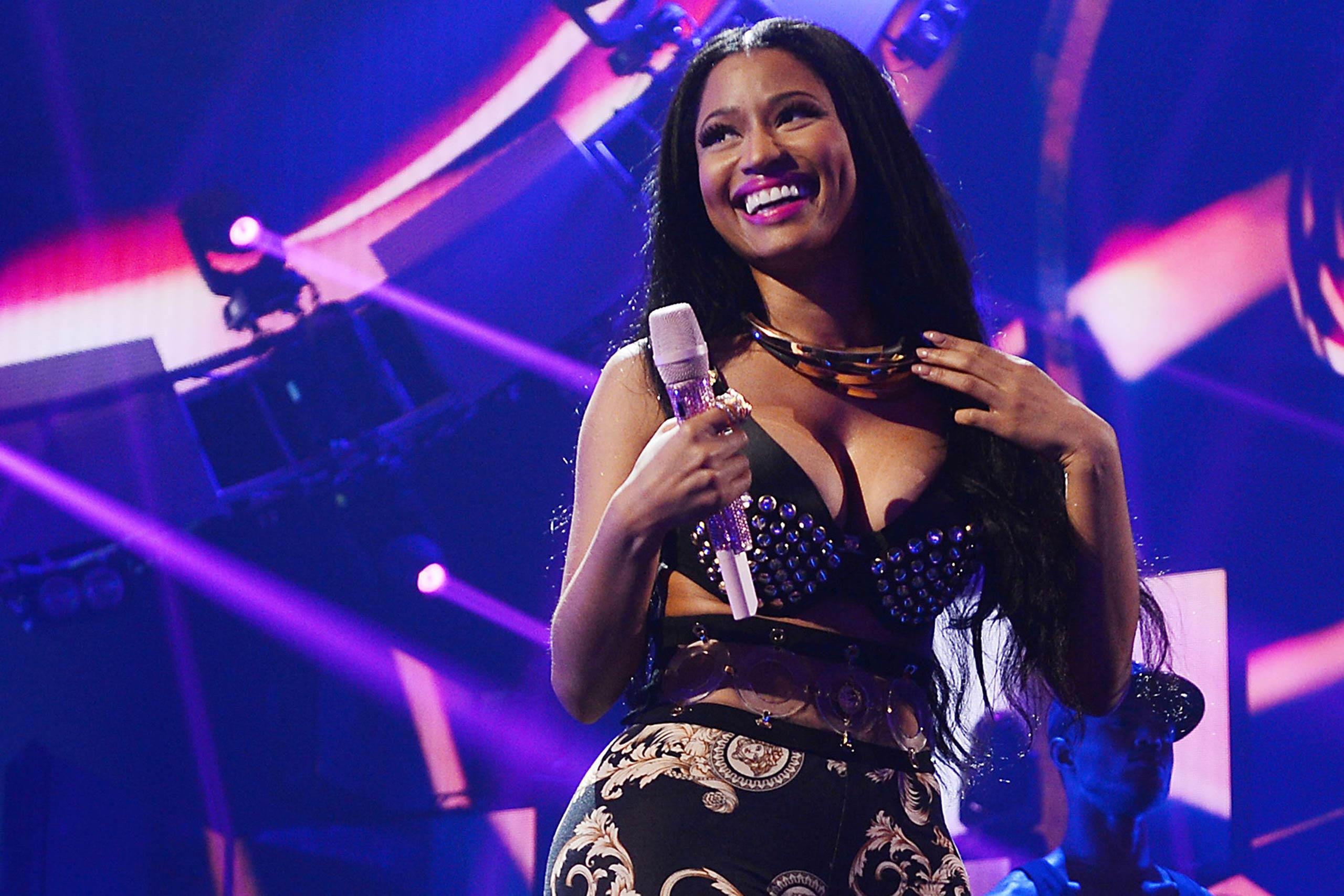 <strong>Nicki Minaj</strong>