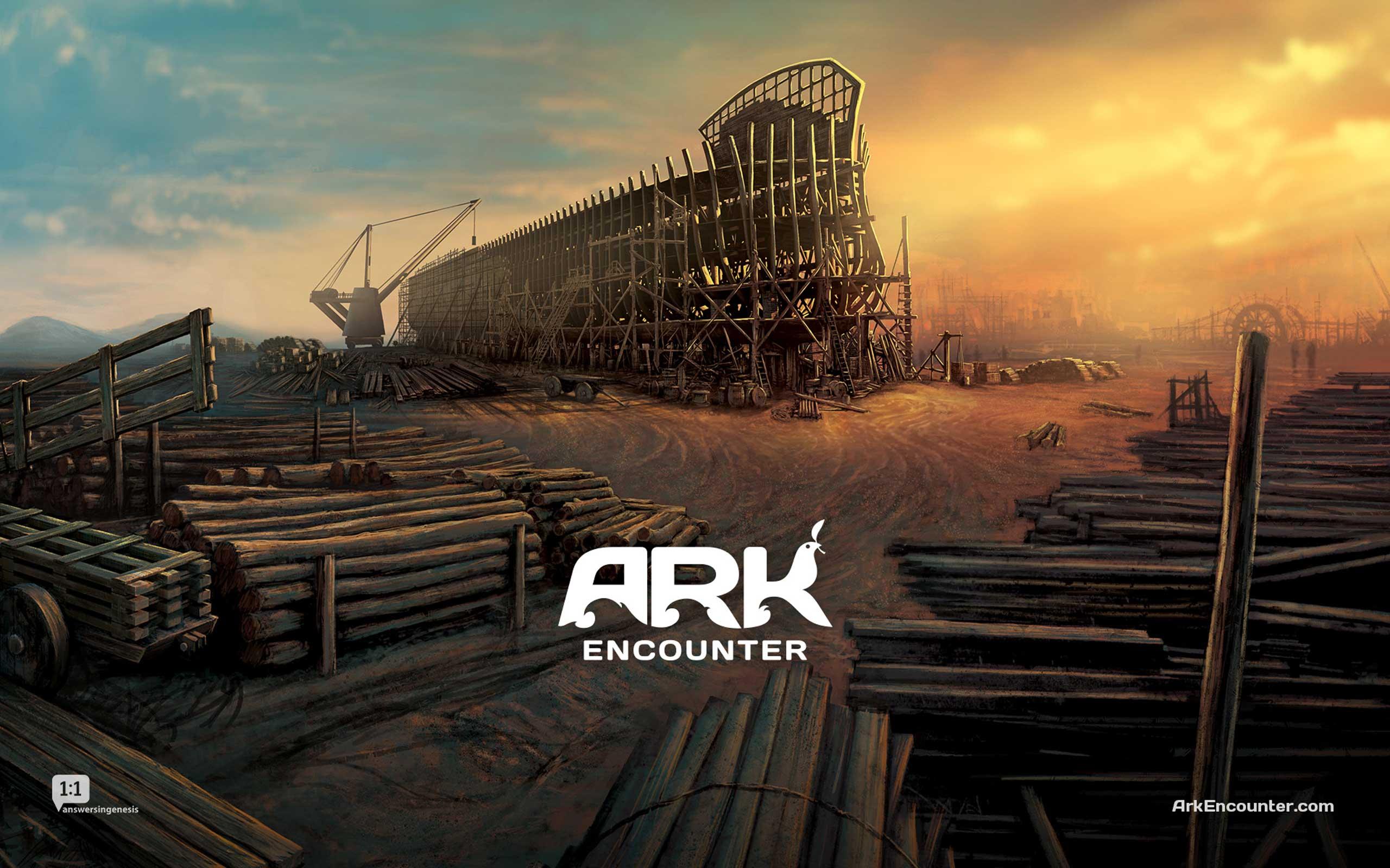 Concept art of Noah's Ark