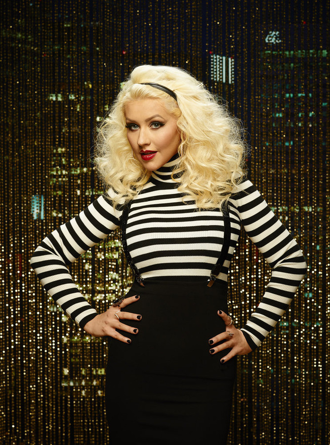 Christina Aguilera is a coach on the eighth season of The Voice.