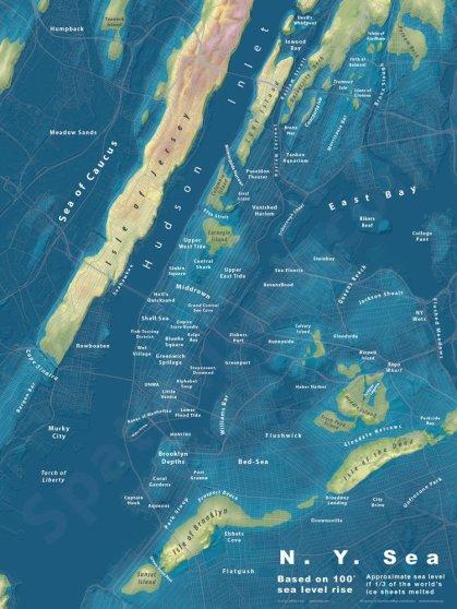 NYC Sea Level Map