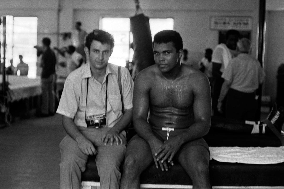 Danny Lyon and Ali in Miami, 1970