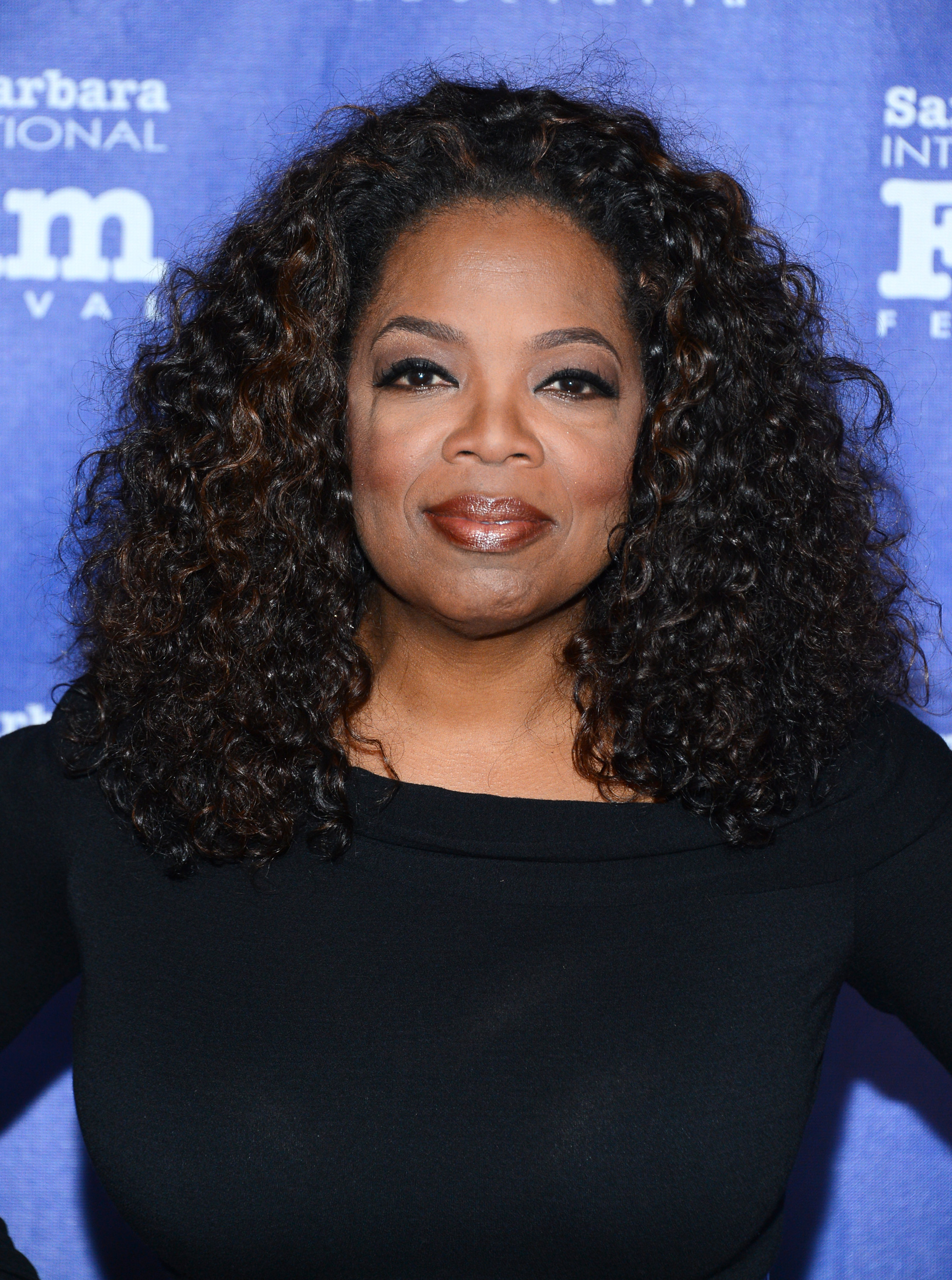 Oprah Winfrey attends the 29th Santa Barbara International Film Festival Montecito at the Arlington Theatre on Feb 5, 2014 in Santa Barbara, Calif.