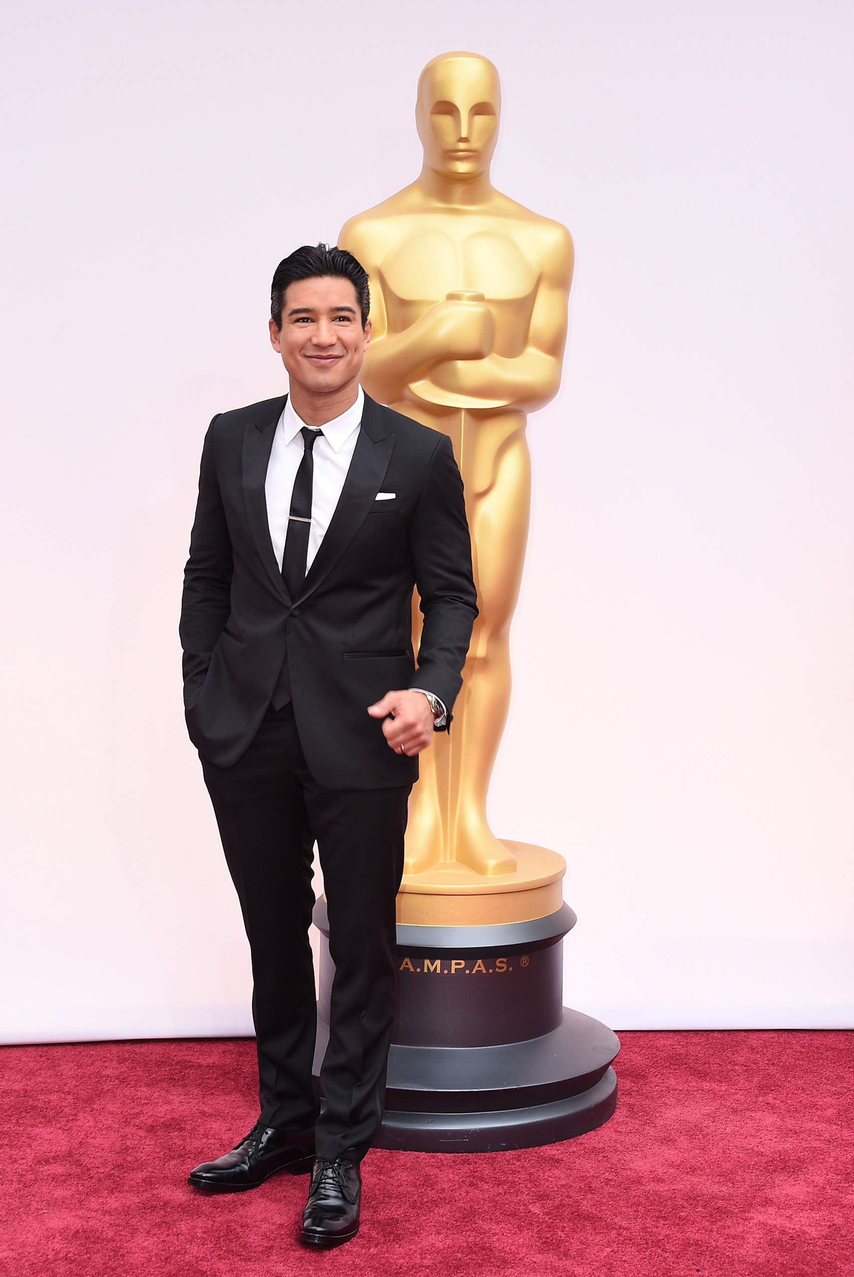 Mario Lopez attends the 87th Annual Academy Awards on Feb. 22, 2015 in Hollywood, Calif.
