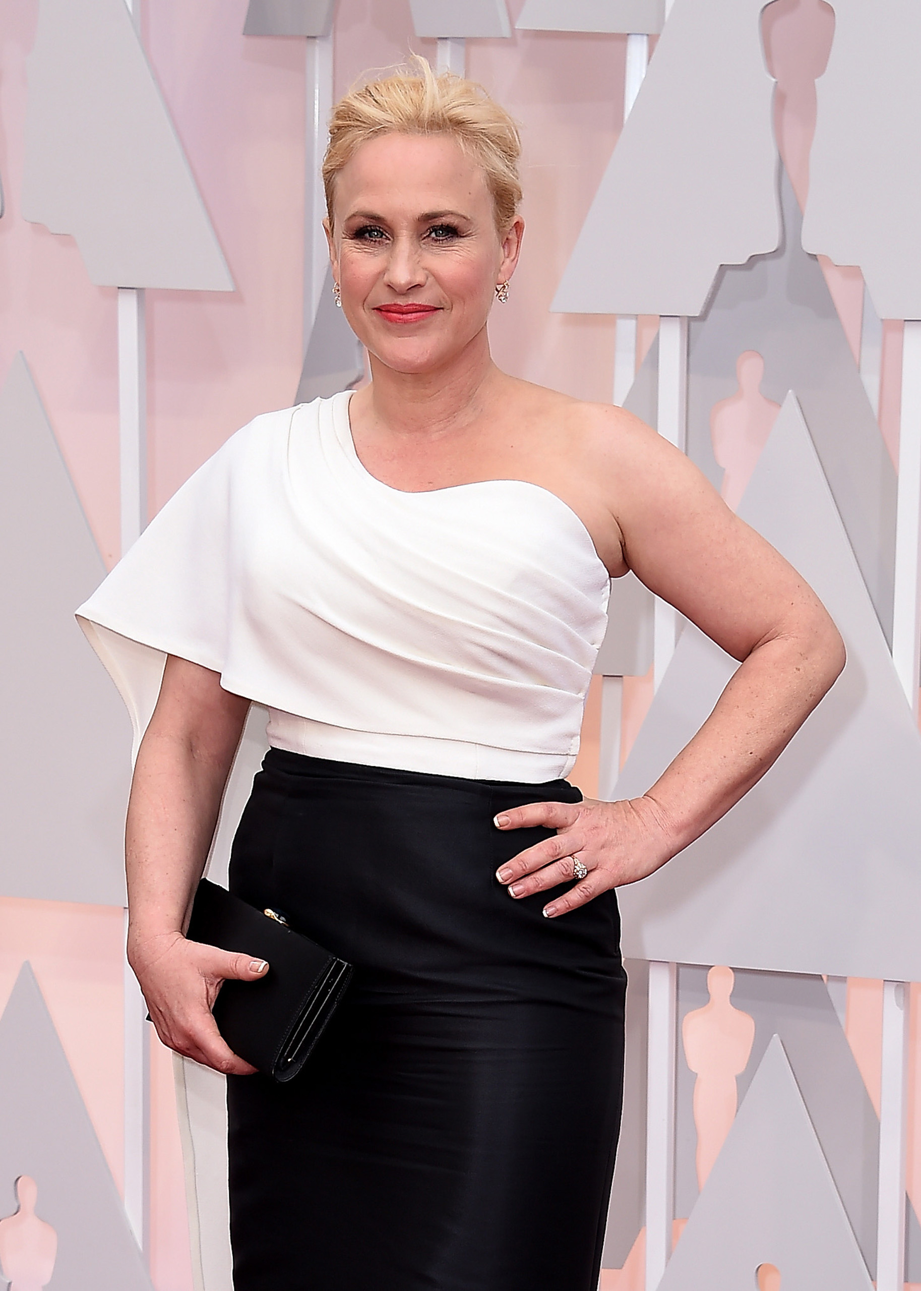 Patricia Arquette attends the 87th Annual Academy Awards on Feb. 22, 2015 in Hollywood, Calif.