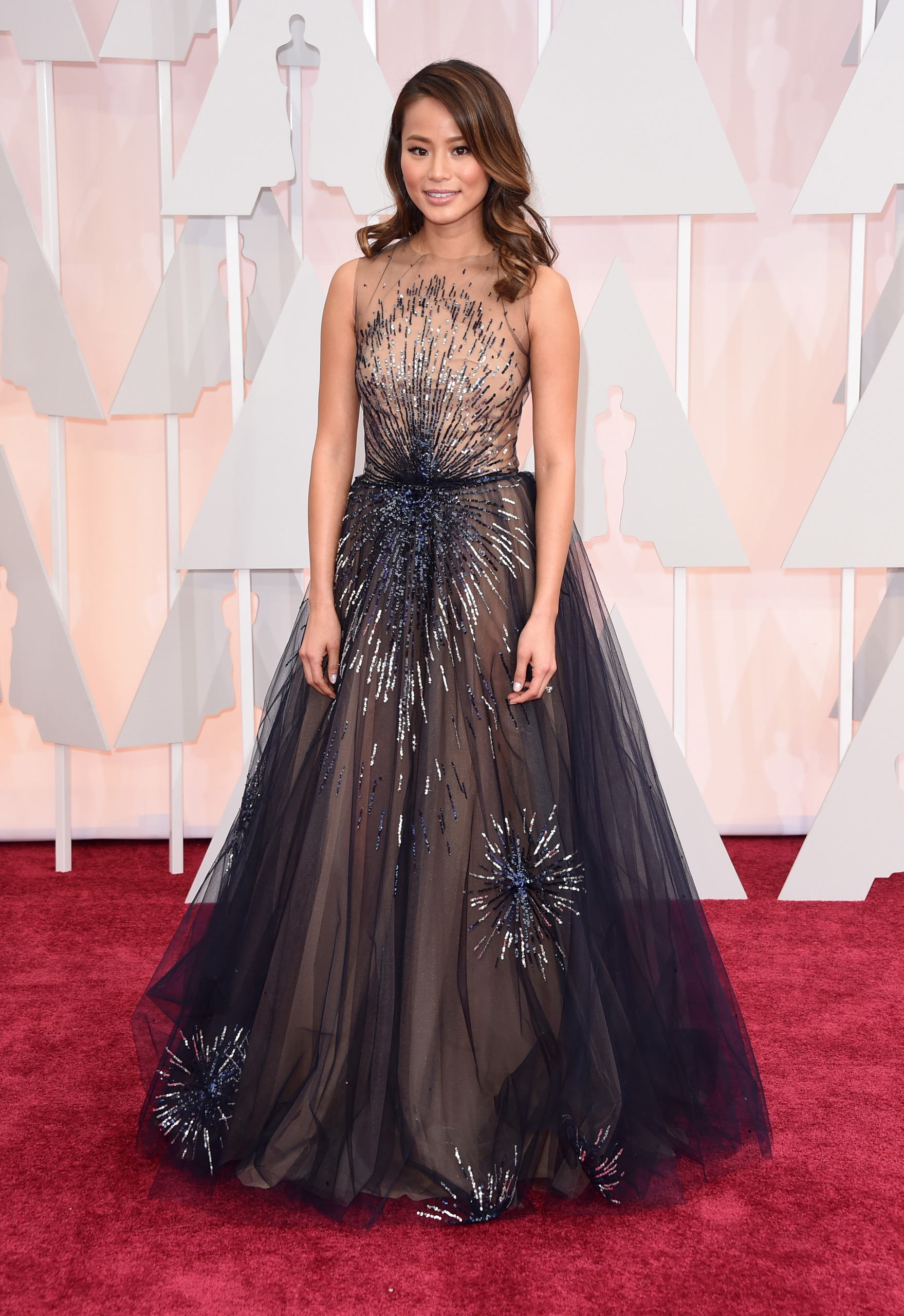 Jamie Chung attends the 87th Annual Academy Awards on Feb. 22, 2015 in Hollywood, Calif.