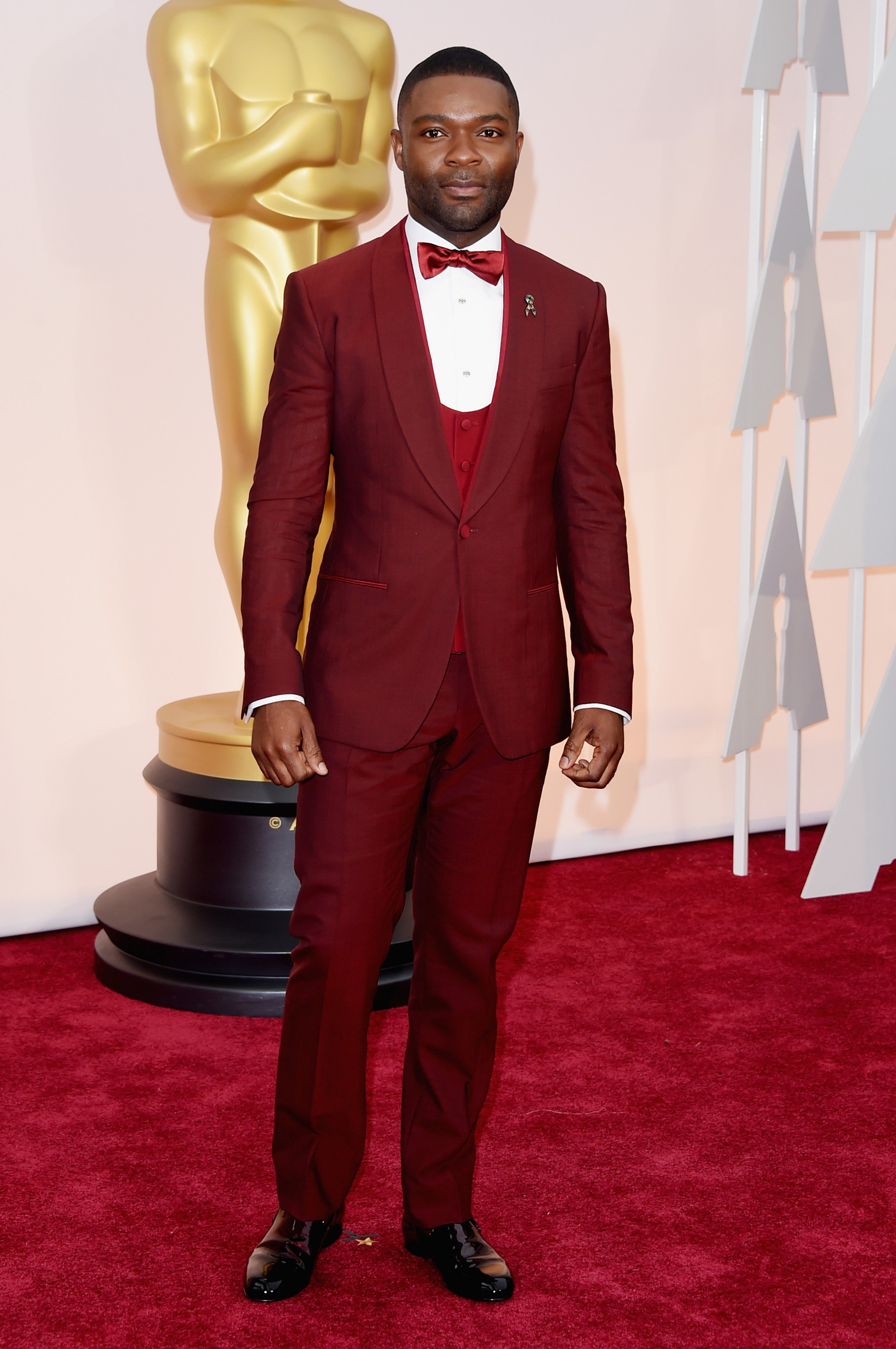 David Oyelowo attends the 87th Annual Academy Awards on Feb. 22, 2015 in Hollywood, Calif.