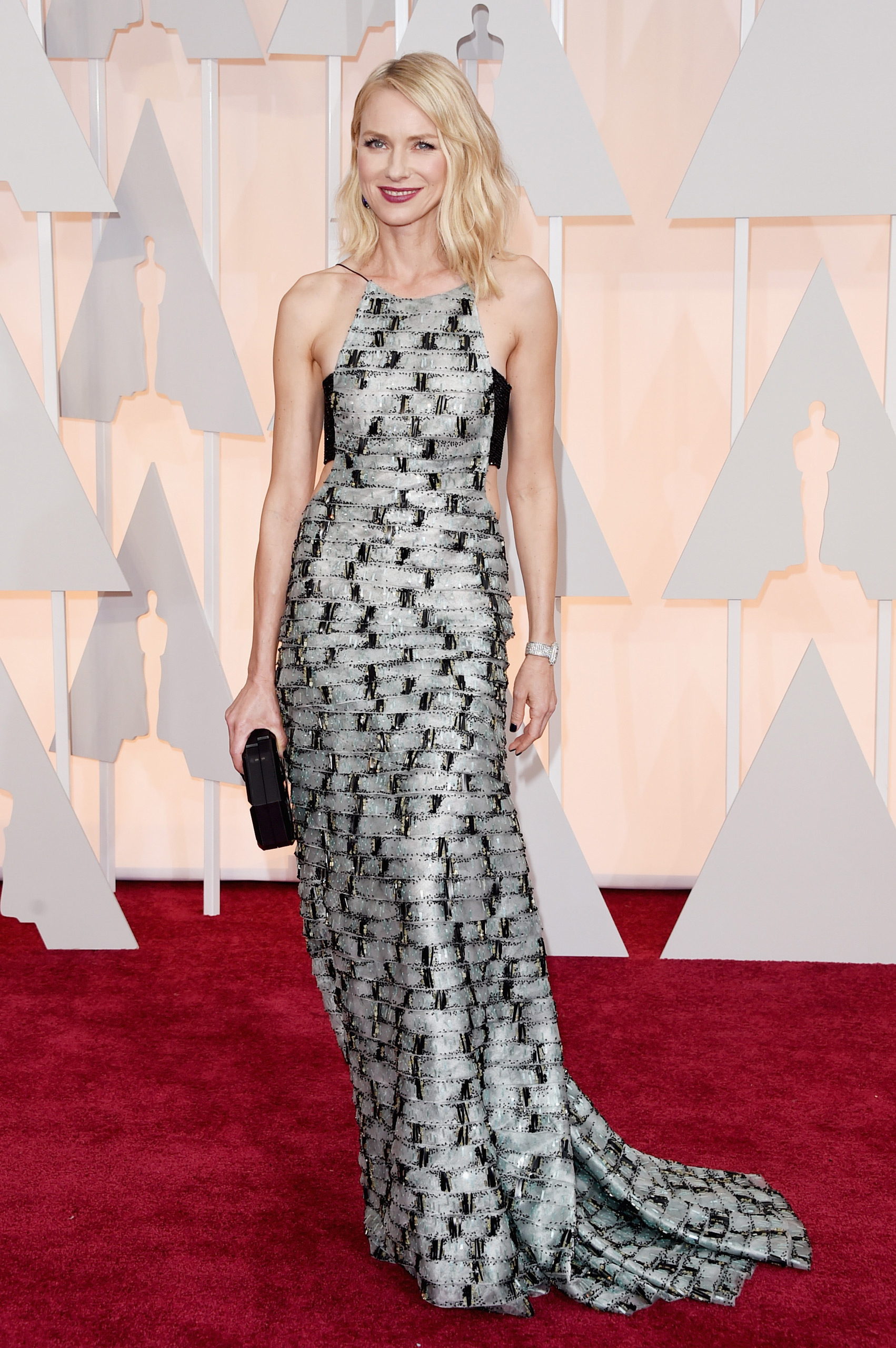 Naomi Watts attends the 87th Annual Academy Awards on Feb. 22, 2015 in Hollywood, Calif.
