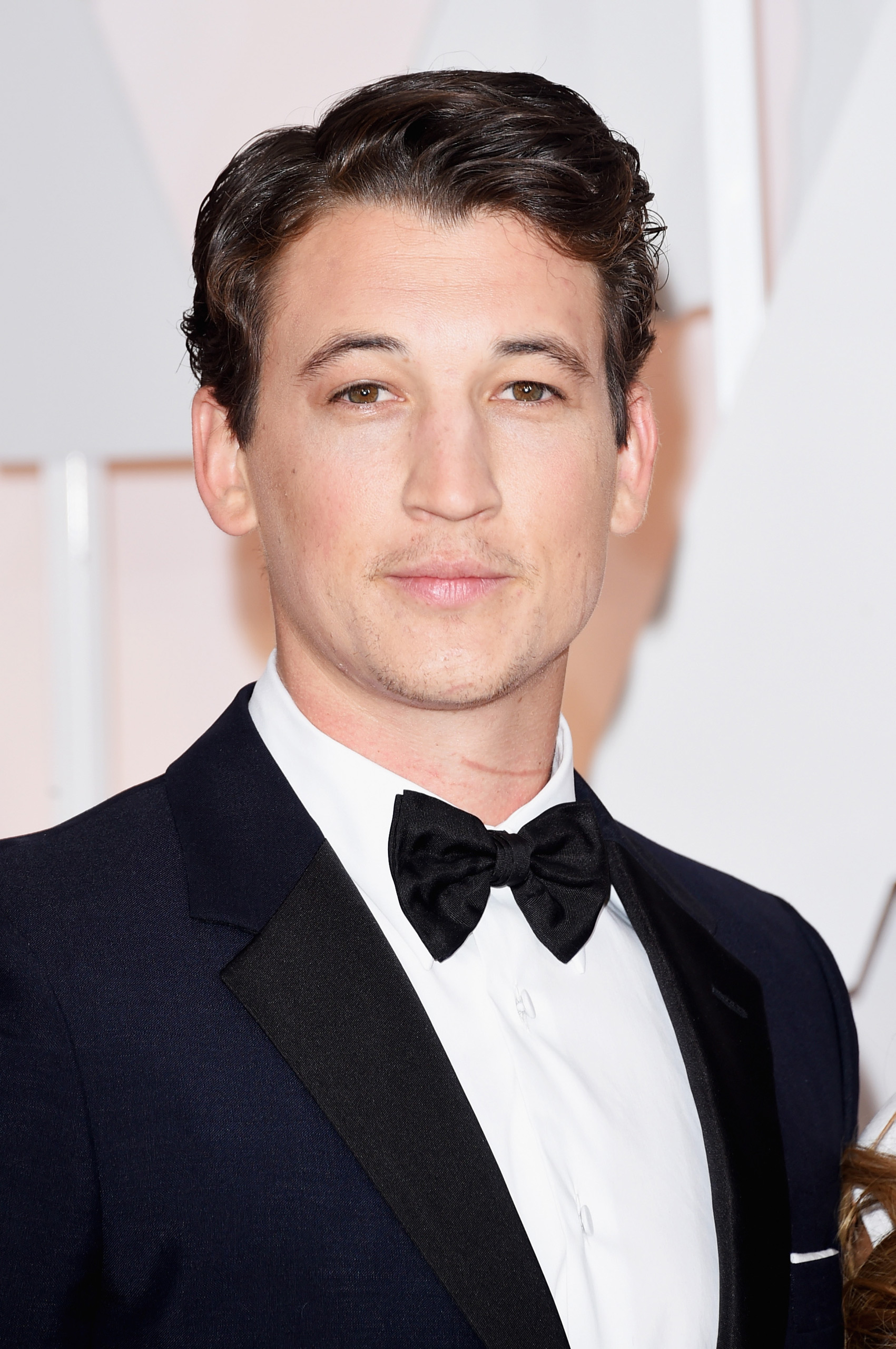 Miles Teller attends the 87th Annual Academy Awards on Feb. 22, 2015 in Hollywood, Calif.