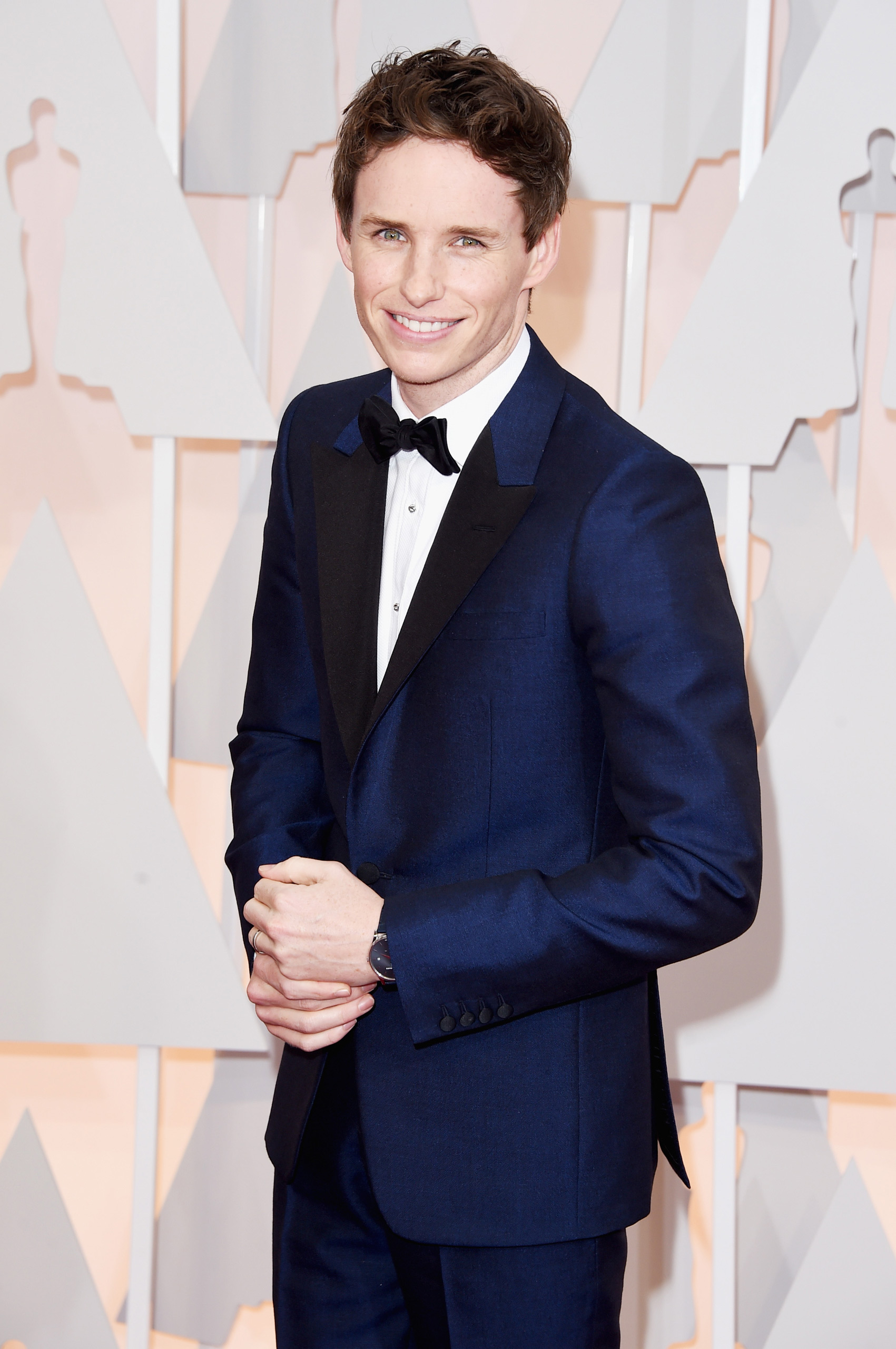 Eddie Redmayne attends the 87th Annual Academy Awards on Feb. 22, 2015 in Hollywood, Calif.