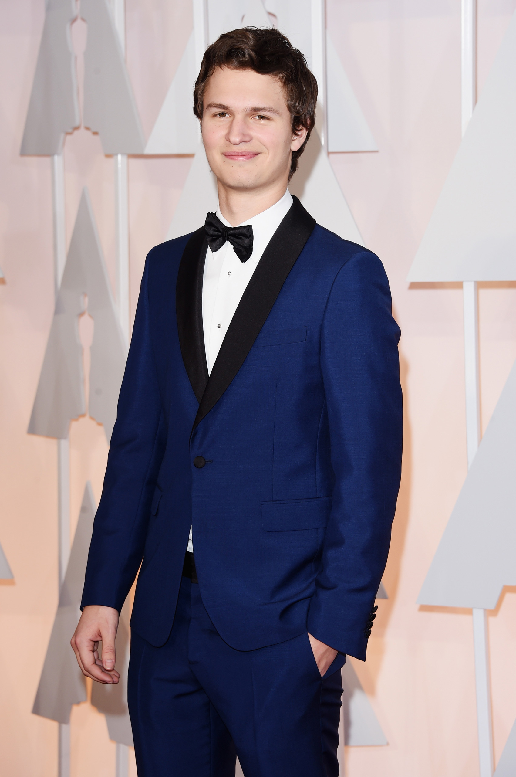 Ansel Elgort attends the 87th Annual Academy Awards on Feb. 22, 2015 in Hollywood, Calif.