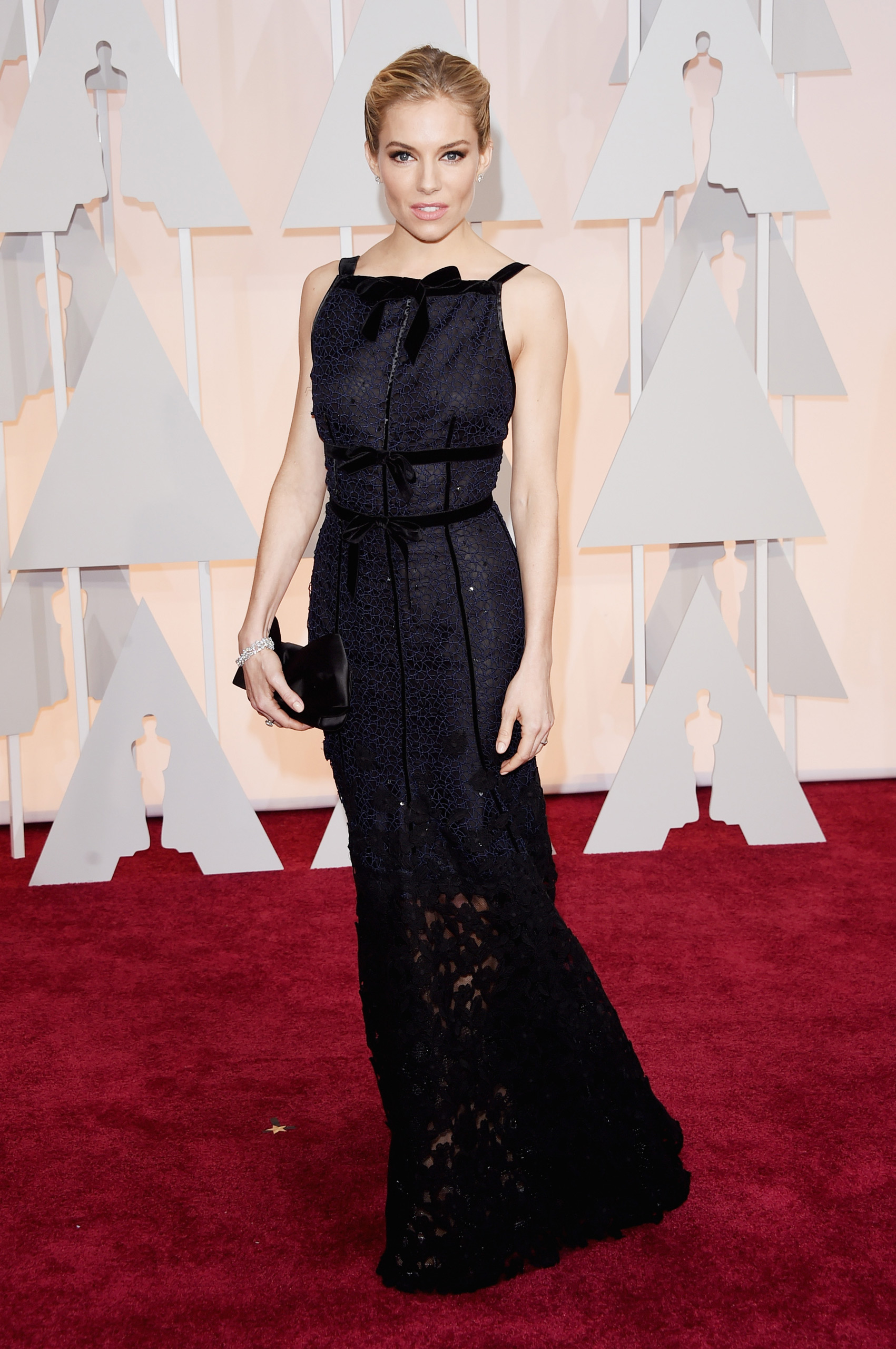 Sienna Miller attends the 87th Annual Academy Awards on Feb. 22, 2015 in Hollywood, Calif.