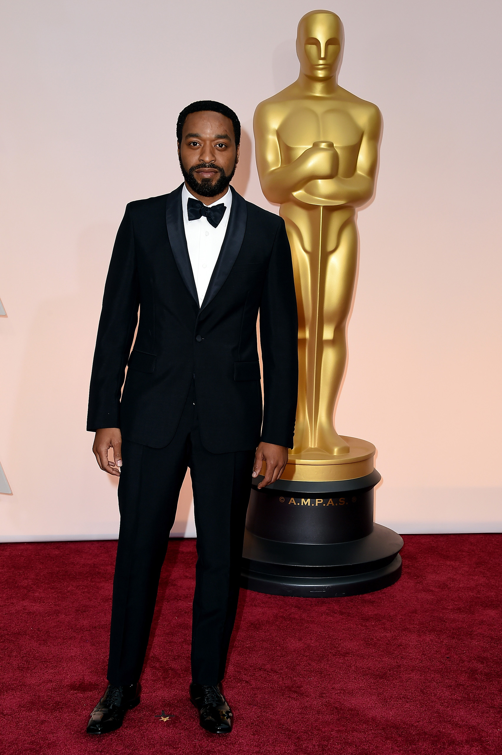 Chiwetel Ejiofor attends the 87th Annual Academy Awards on Feb. 22, 2015 in Hollywood, Calif.