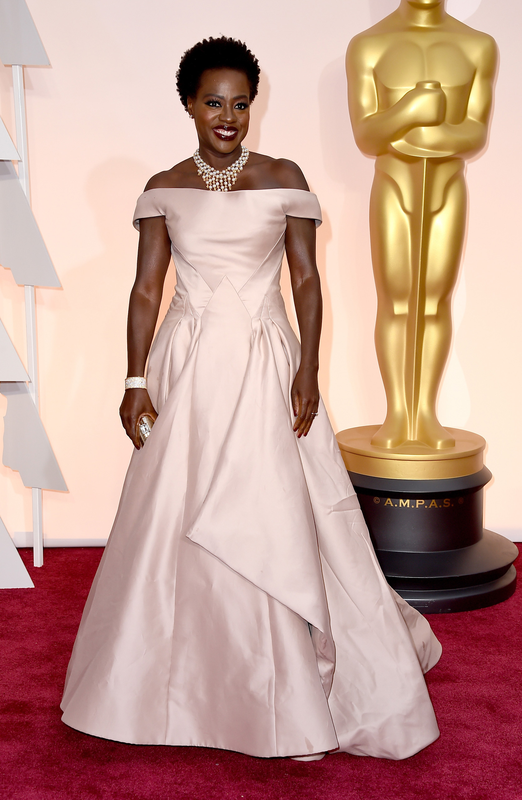 Viola Davis attends the 87th Annual Academy Awards on Feb. 22, 2015 in Hollywood, Calif.