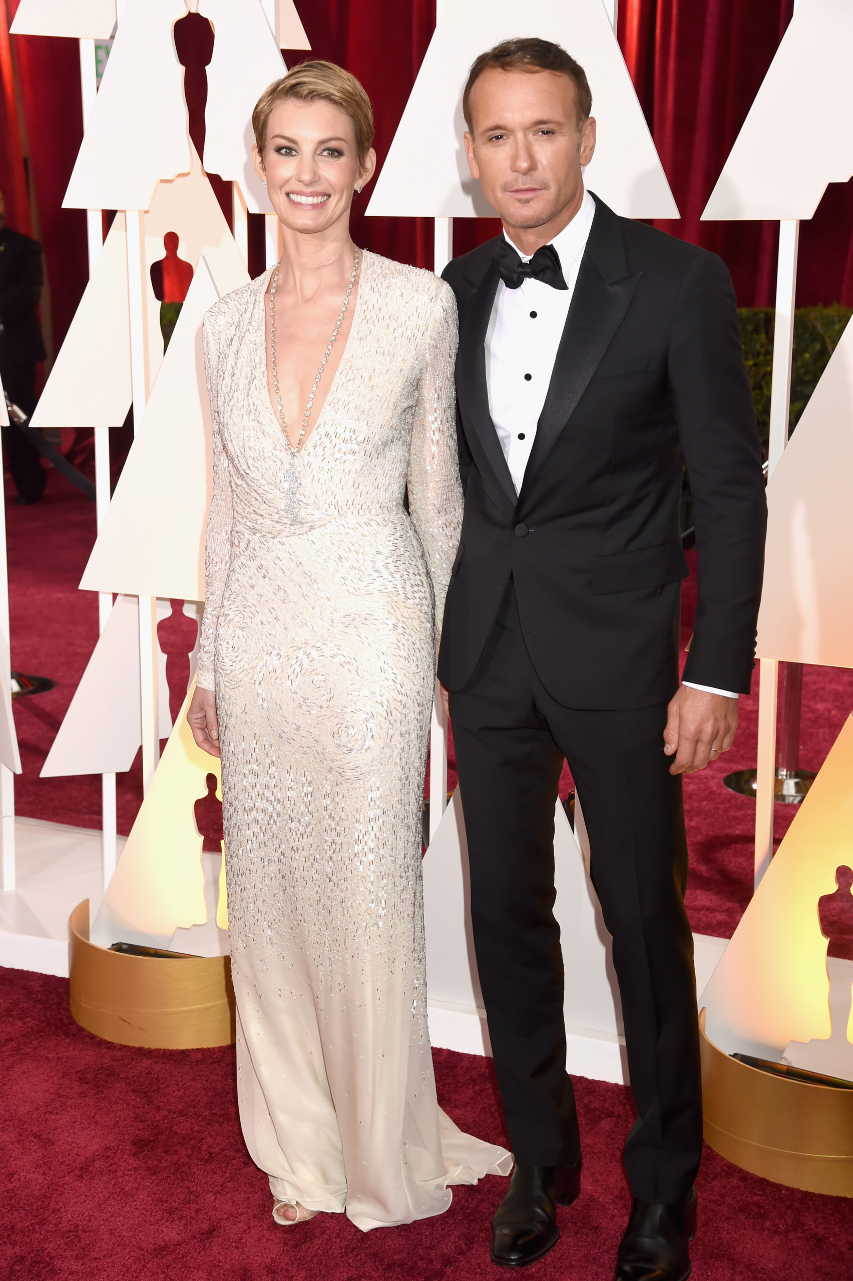 Faith Hill and Tim McGraw attend the 87th Annual Academy Awards on Feb. 22, 2015 in Hollywood, Calif.