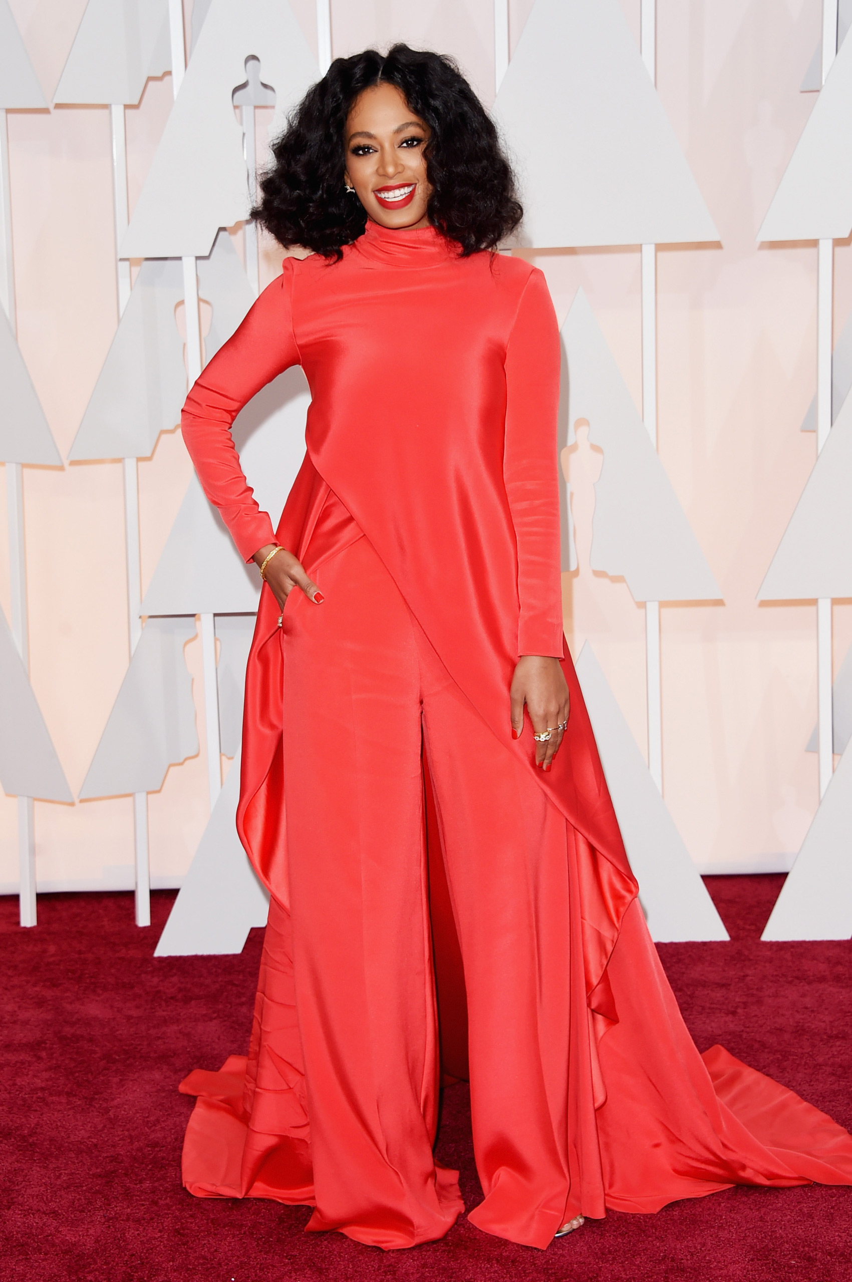 Solange Knowles attends the 87th Annual Academy Awards on Feb. 22, 2015 in Hollywood, Calif.