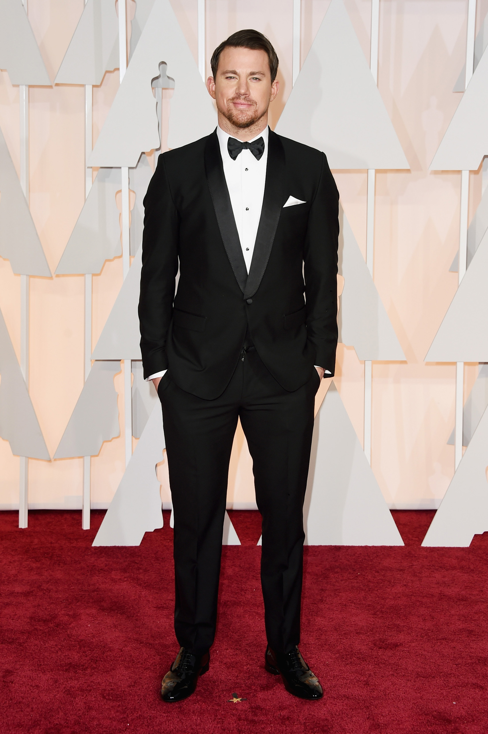 Channing Tatum attends the 87th Annual Academy Awards on Feb. 22, 2015 in Hollywood, Calif.