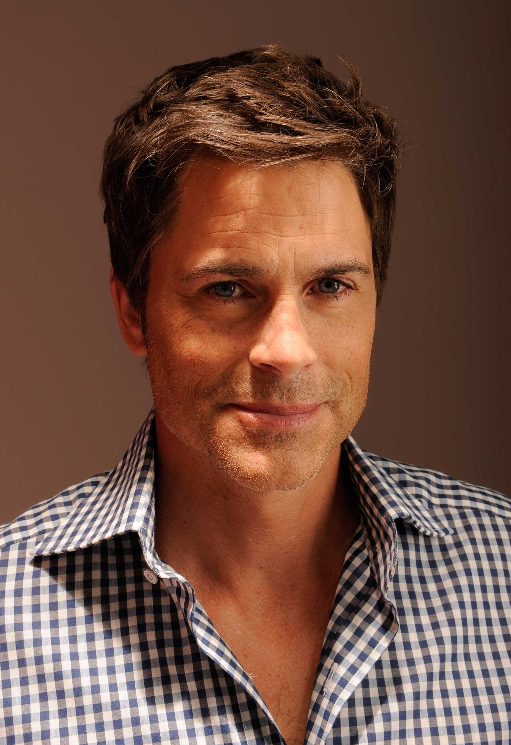 Actor Rob Lowe visits the Tribeca Film Festival 2012 portrait studio on April 25, 2012 in New York City.