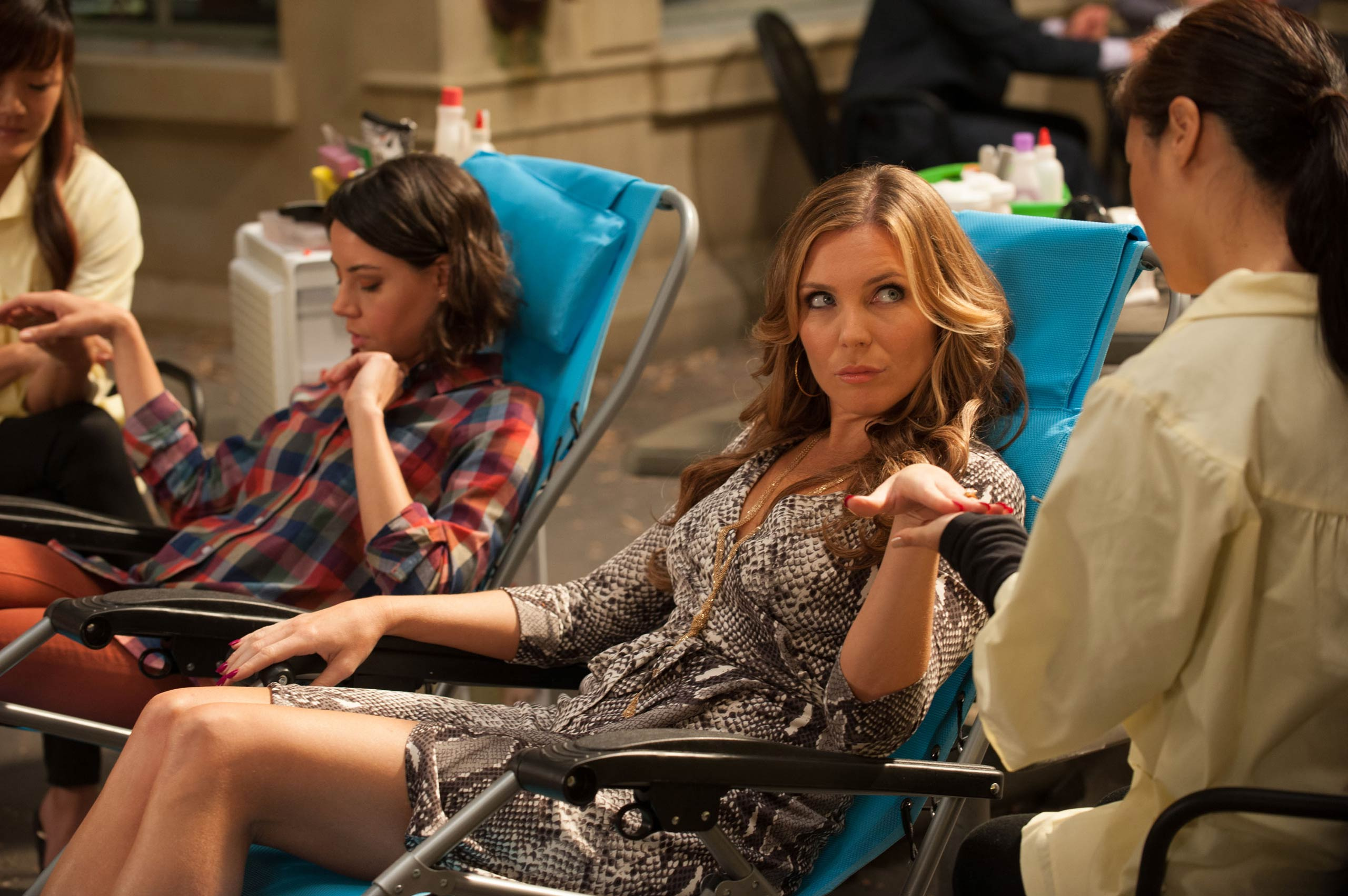 <strong>June Diane Raphael, right, as Tynnyfer</strong>