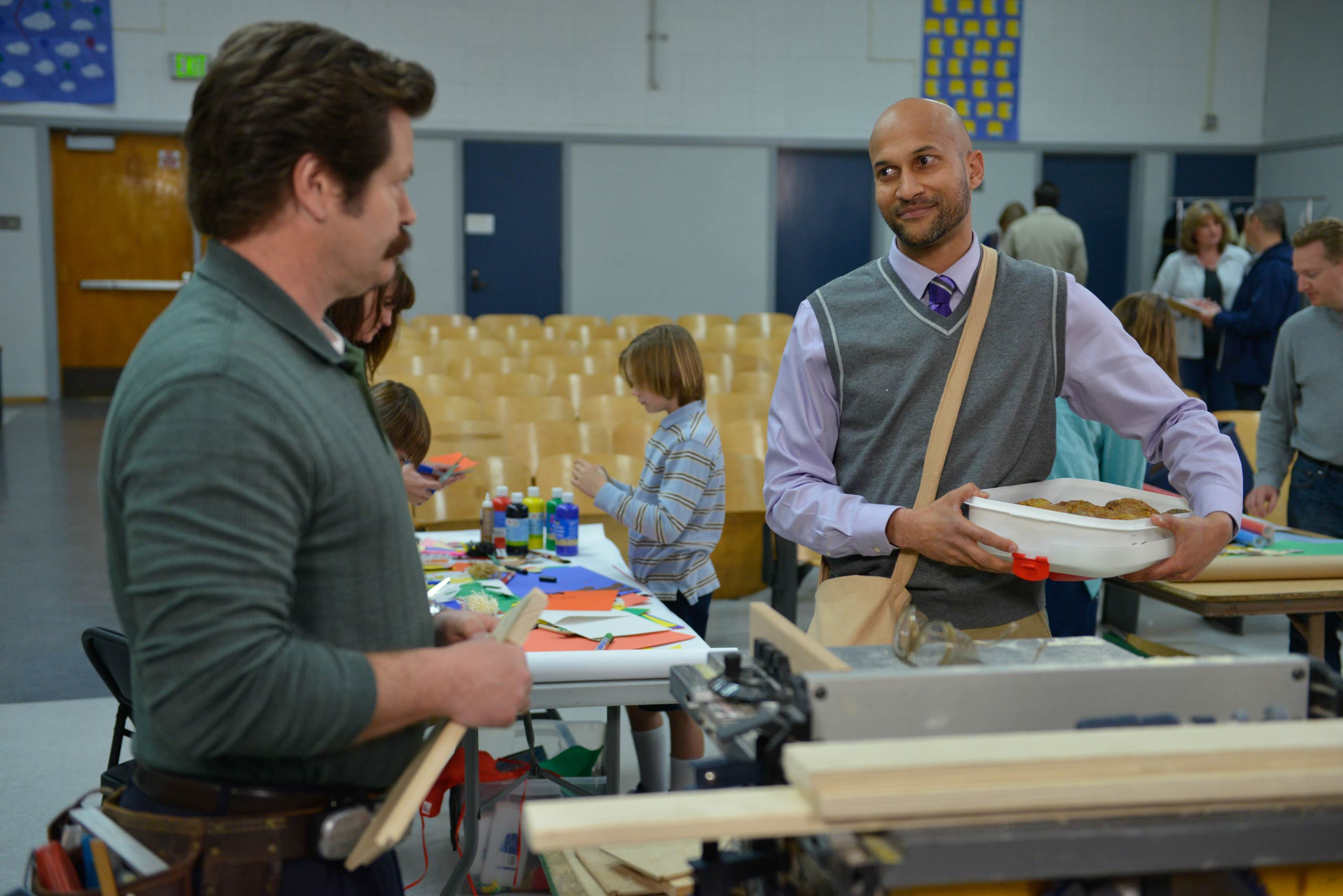 <strong>Keegan-Michael Key, right, as Joe</strong>