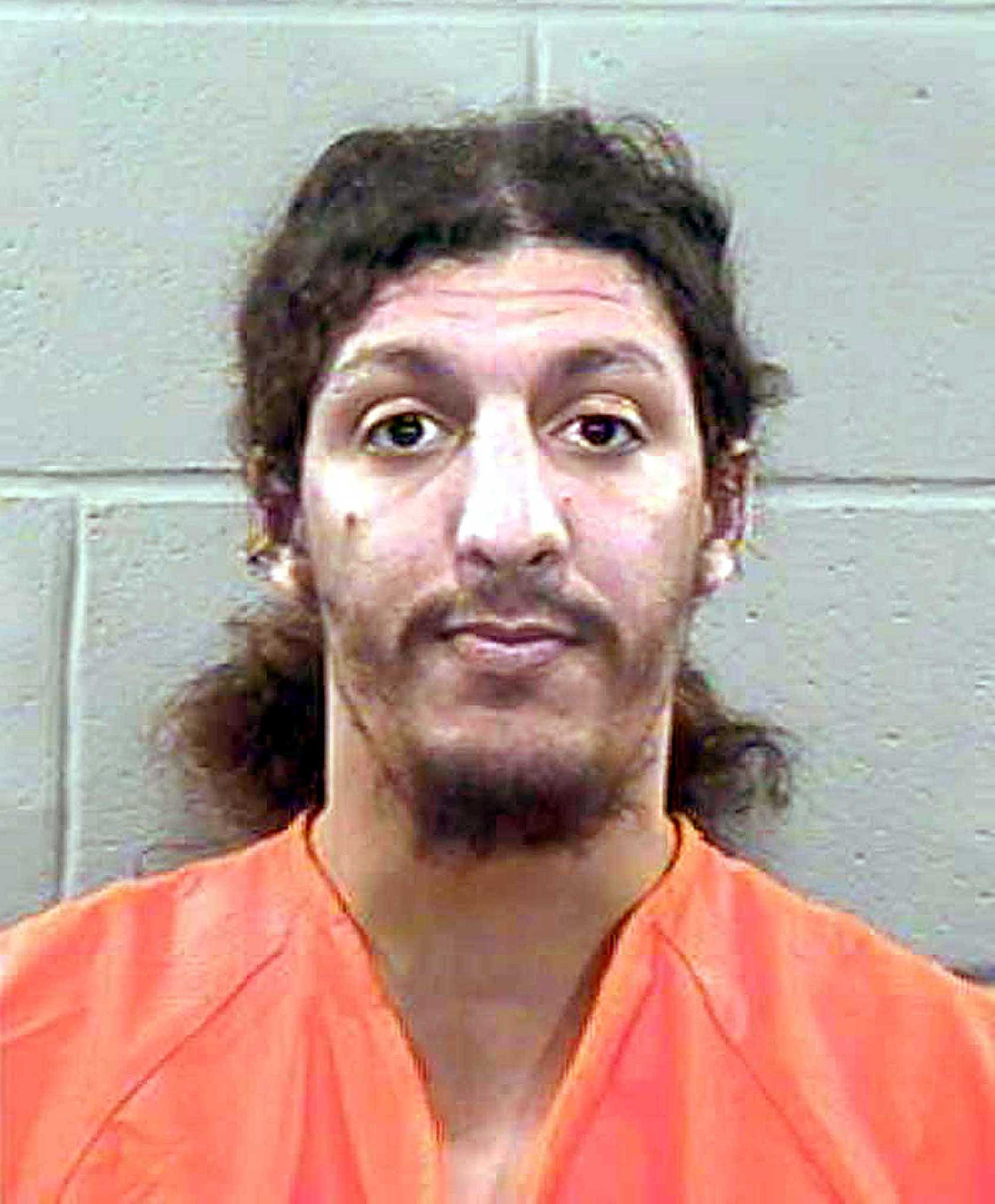 Richard Reid, the British citizen accused of trying to blow up an aircraft with explosives in his shoes, is shown in this December, 2001 police photograph.
