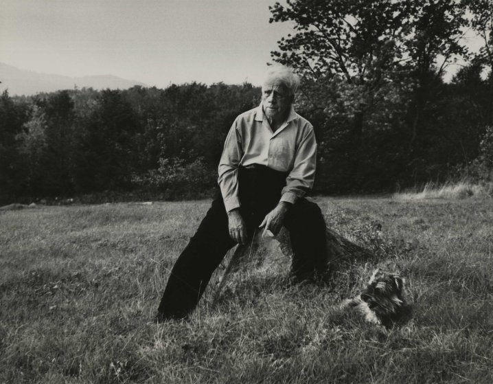 Robert Frost 84, poet. A late riser (9 to 10), he is active outdoors (gardening, walking), works late every night.