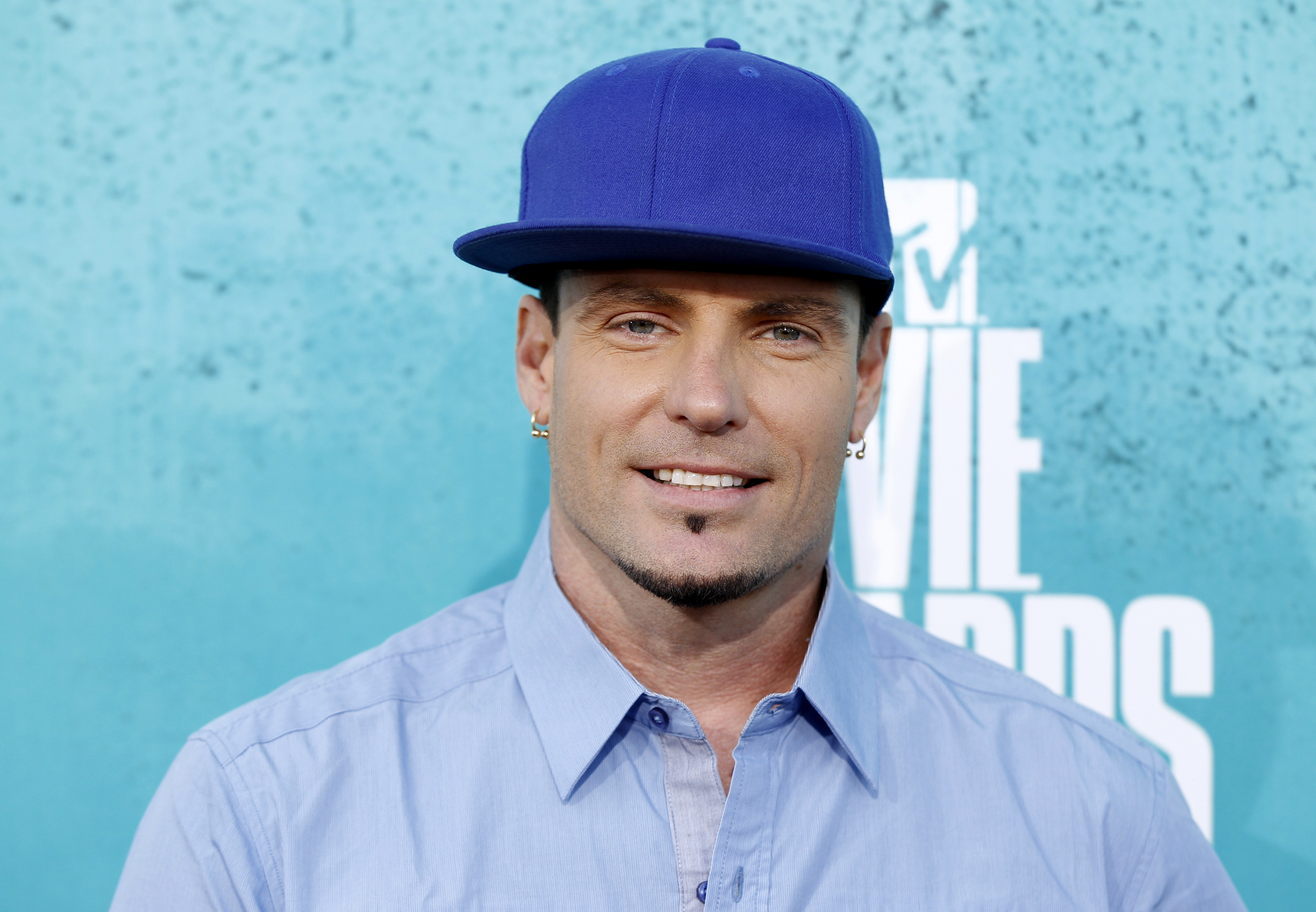 Singer Vanilla Ice arrives at the 2012 MTV Movie Awards in Los Angeles, June 3, 2012
