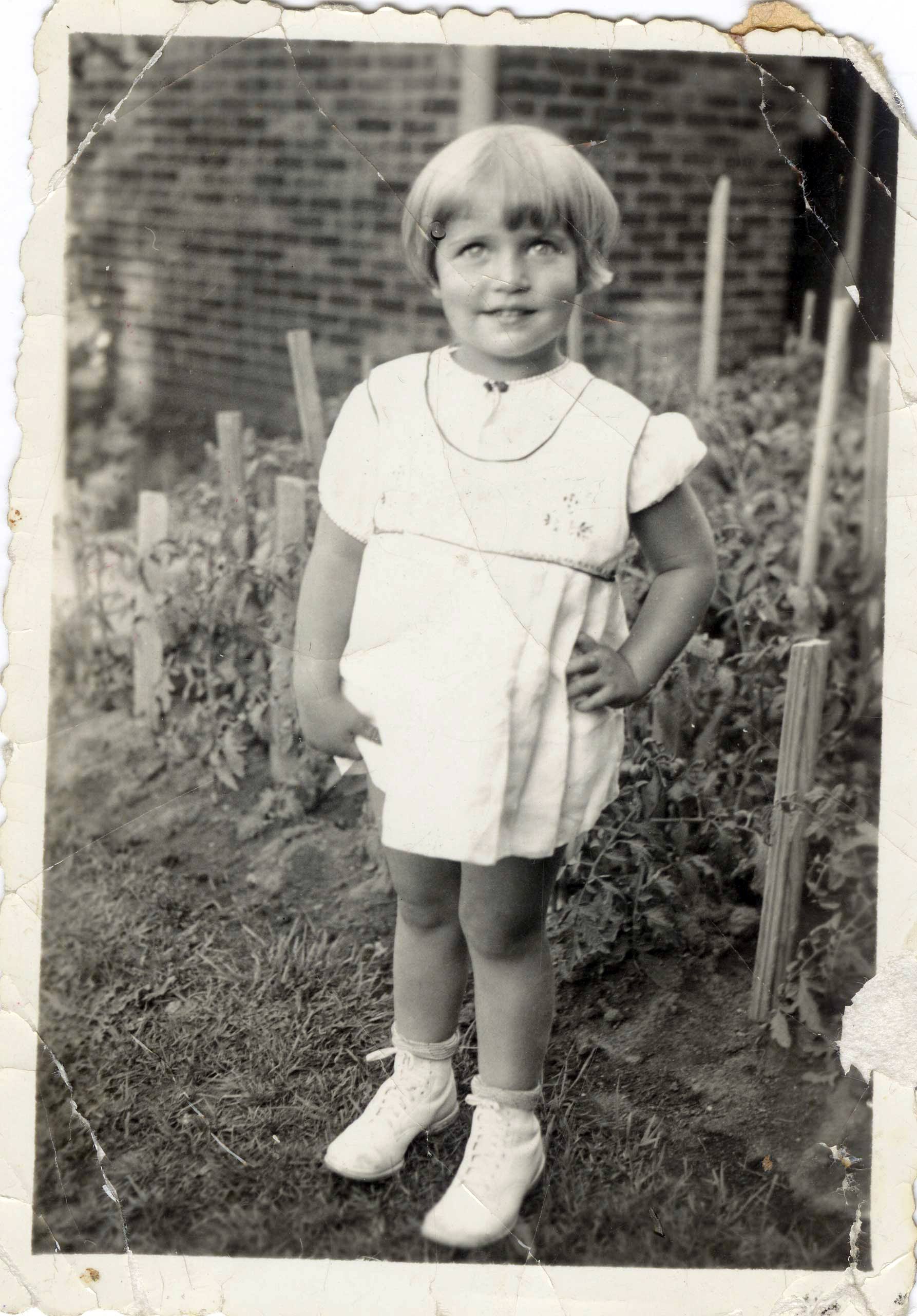 <b>August 2, 1935</b>                                   Childhood photograph of Ruth Bader taken when she was two years old.