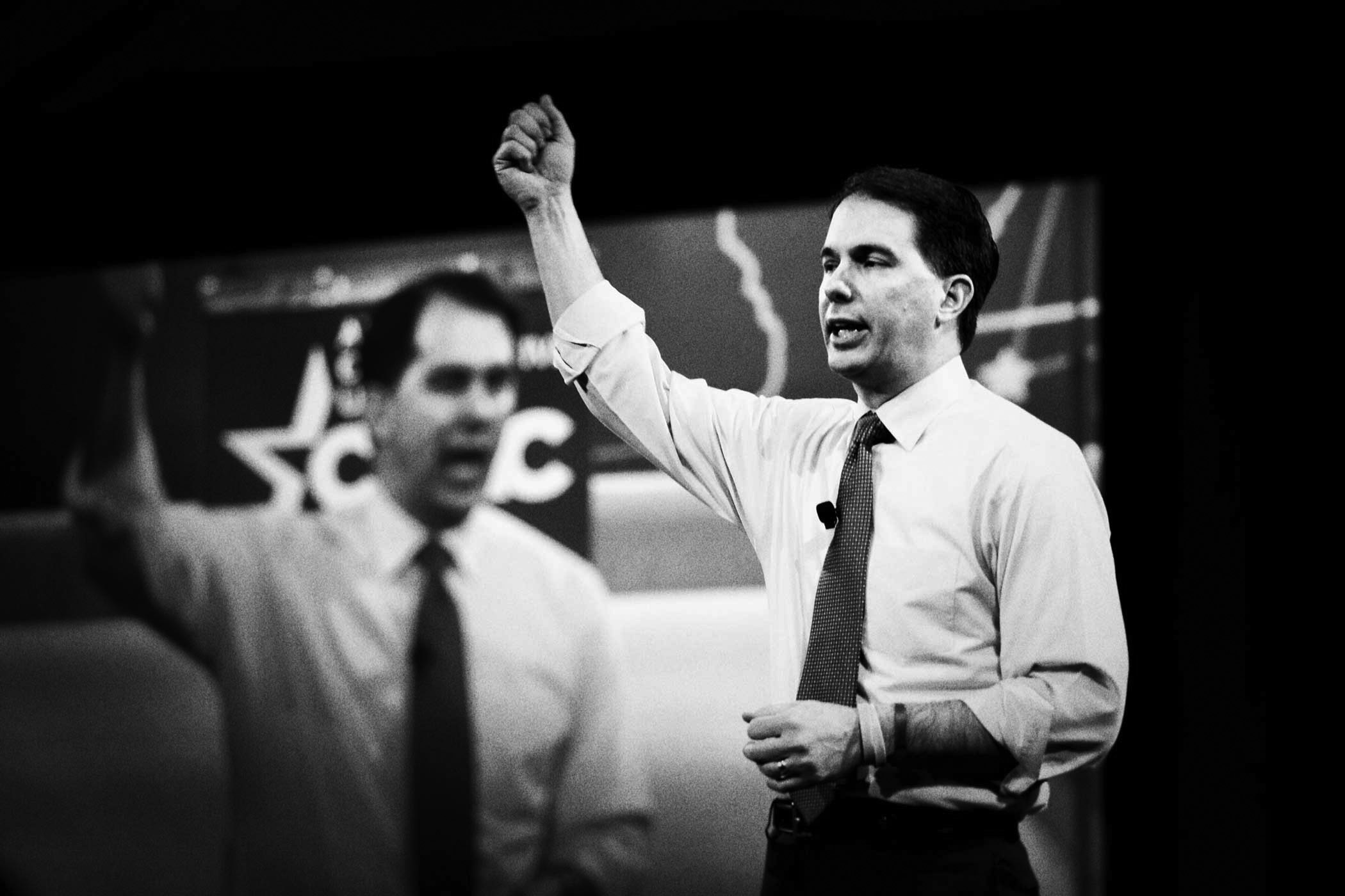 Wisconsin Governor Scott Walker at CPAC in National Harbor, Md., on Feb. 26, 2015.