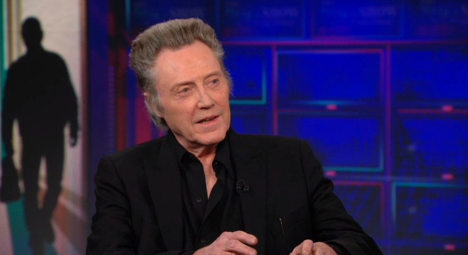 Last year, Christopher Walken talked tap dancing on the show