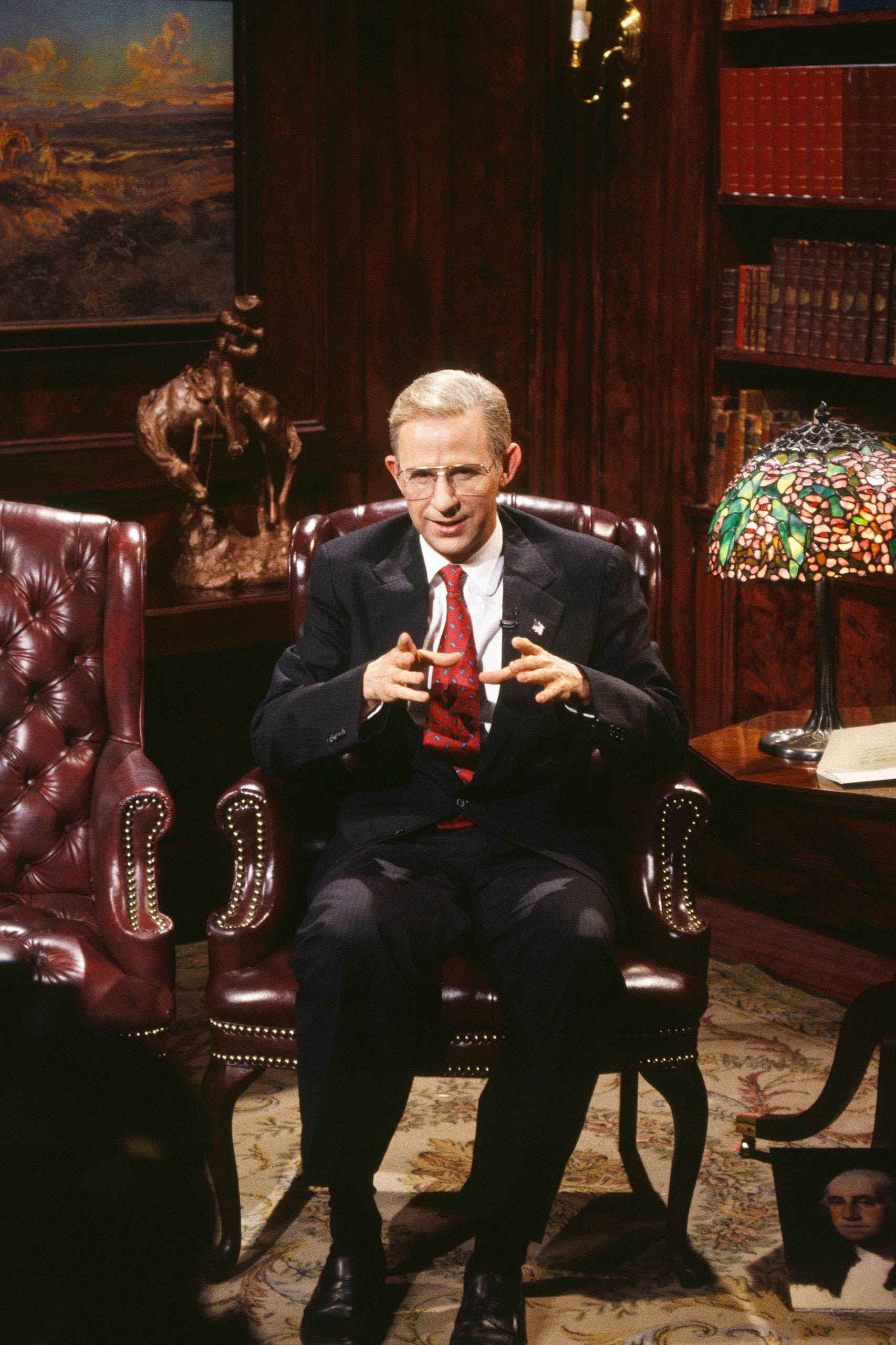 Dana Carvey as Ross Perot in 1993.