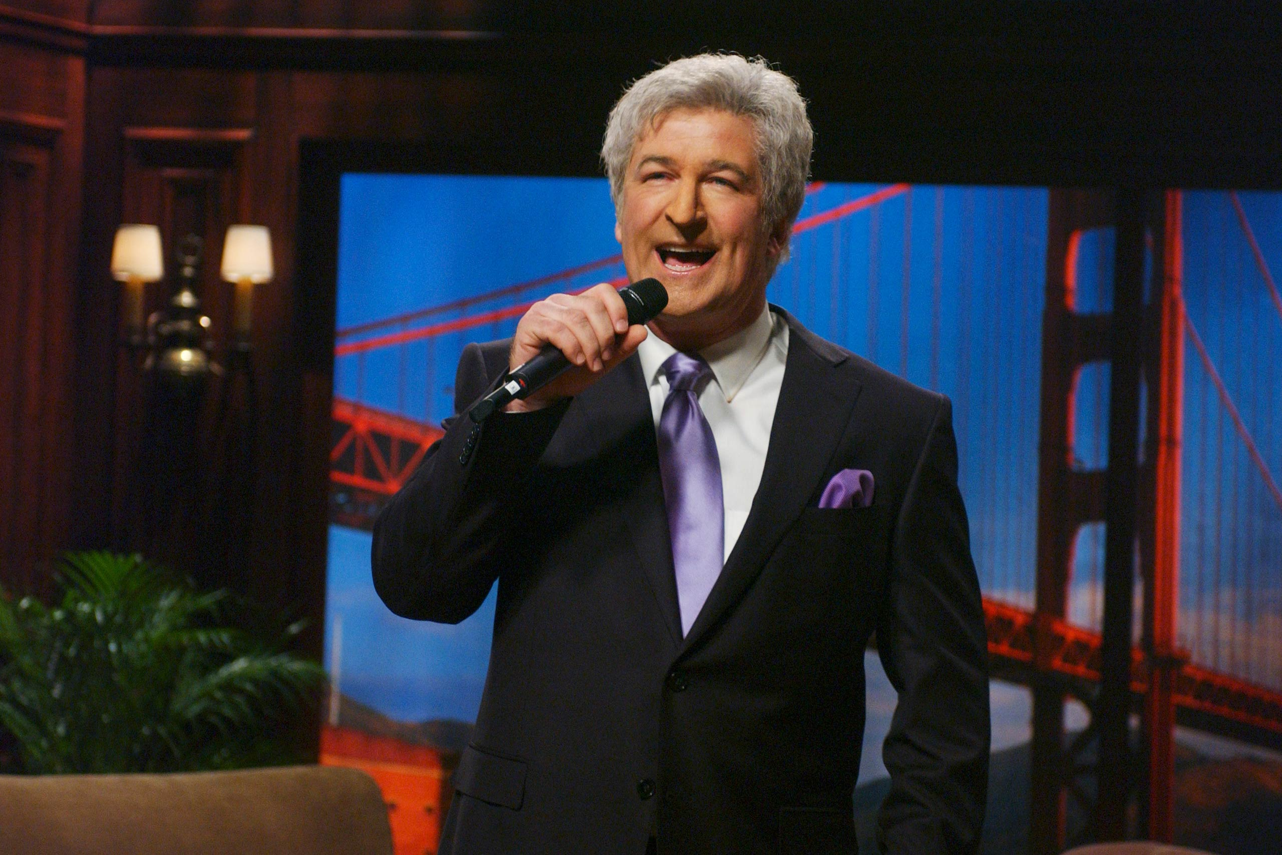 Alec Baldwin as Tony Bennett in 2005.