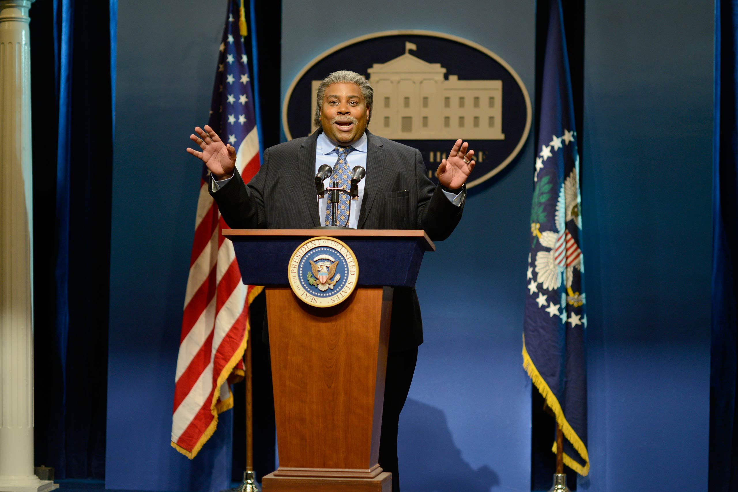 Kenan Thompson as Rev. Al Sharpton on Oct. 25, 2014.