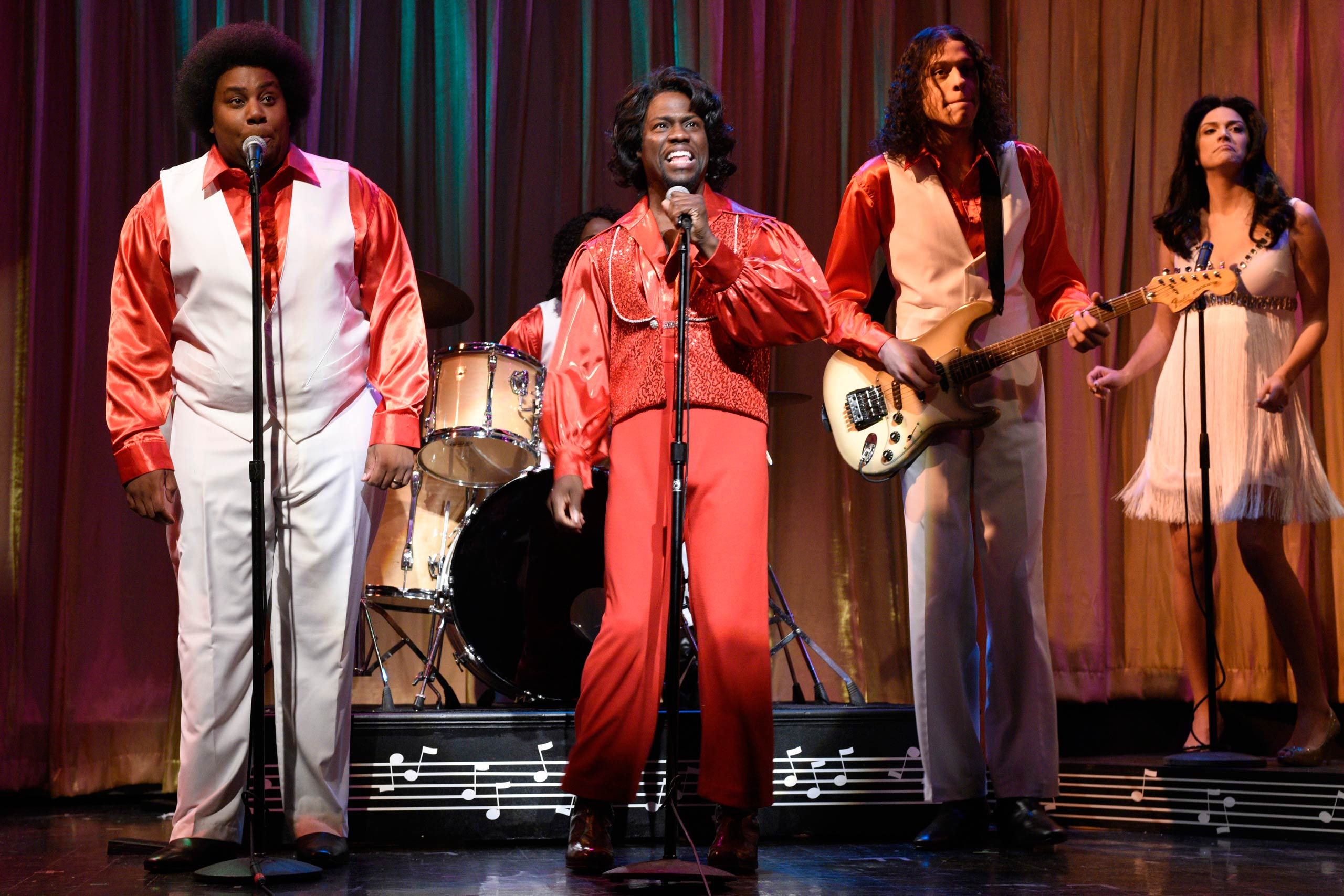 Kevin Hart as James Brown on Jan. 17, 2015.