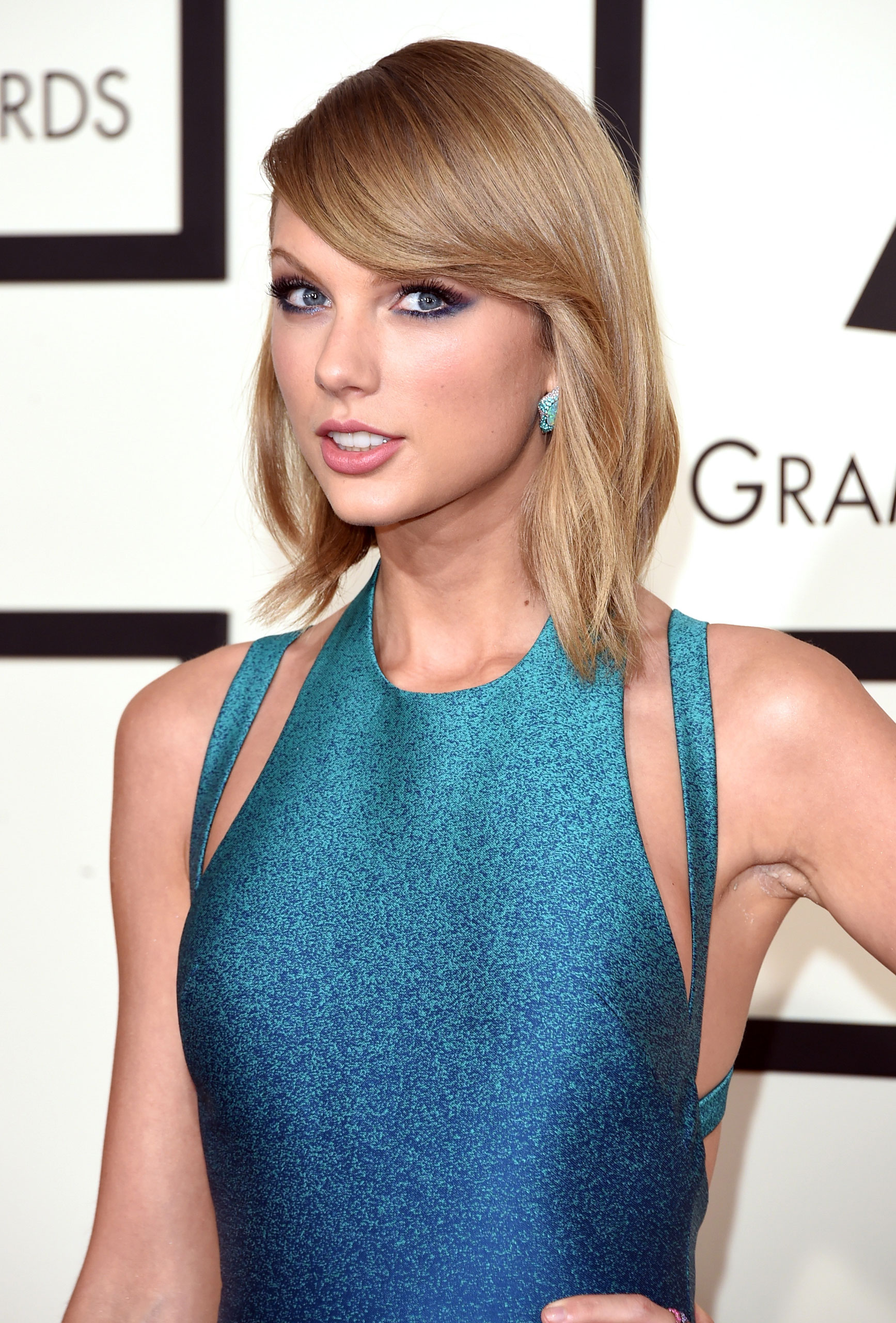 Taylor Swift attends the 57th Annual Grammy Awards at the Staples Center on Feb. 8, 2015 in Los Angeles, Calif.