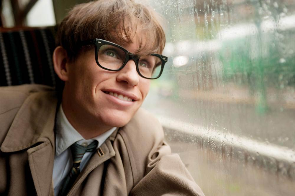 THE THEORY OF EVERYTHING, Eddie Redmayne as Stephen Hawking, 2014. ph: Liam Daniel/©Focus