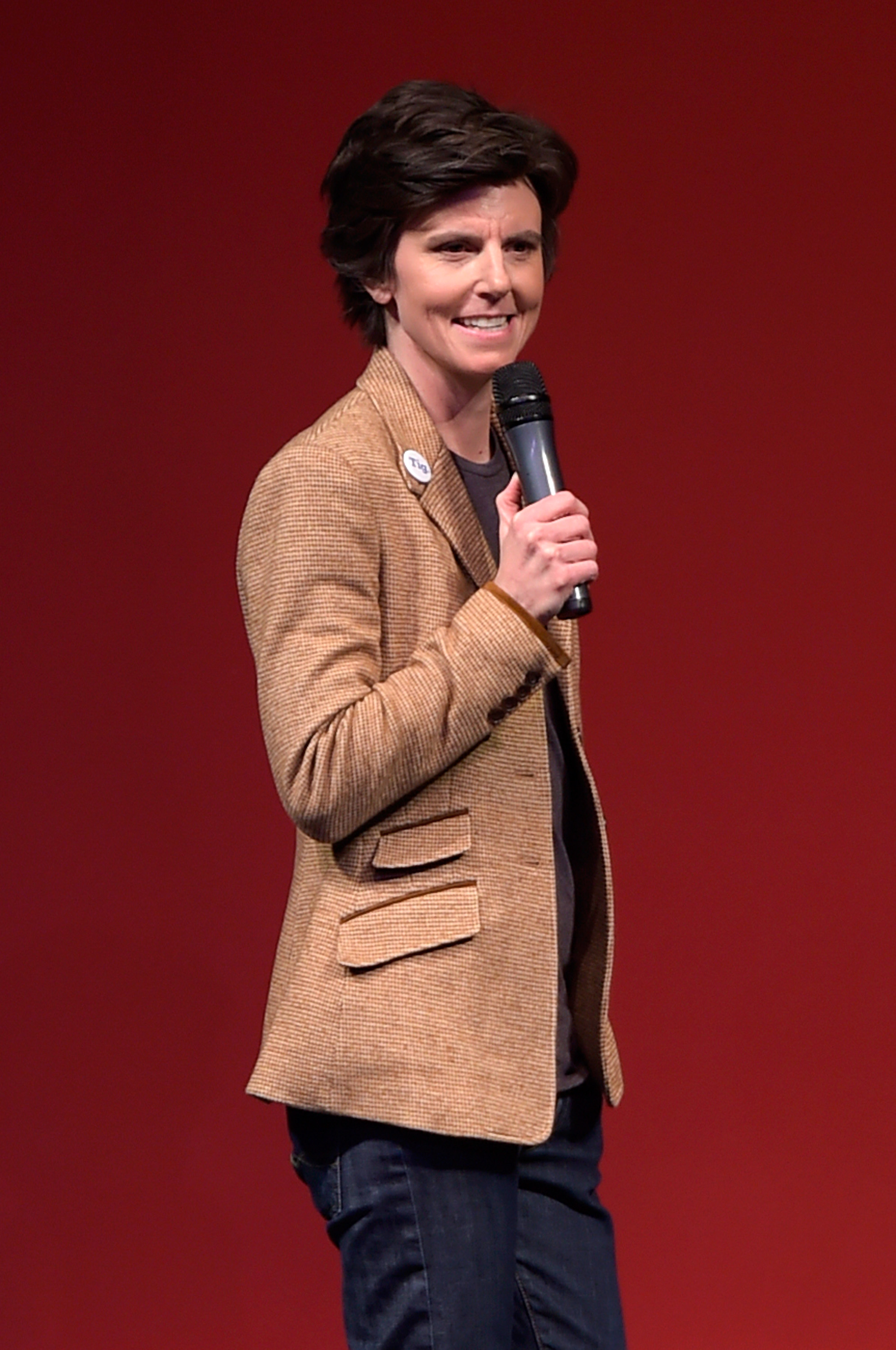 Host Tig Notaro speaks onstage at the Awards Night Ceremony during the 2015 Sundance Film Festival at the Basin Recreation Field House on January 31, 2015 in Park City, Utah.