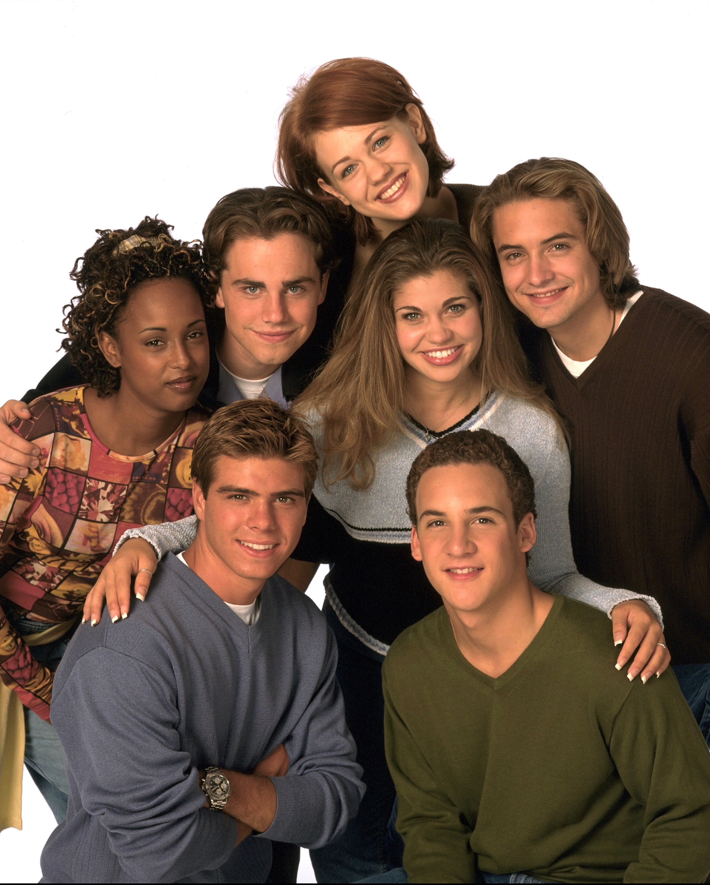 Boy Meets World Cast, July 1998.