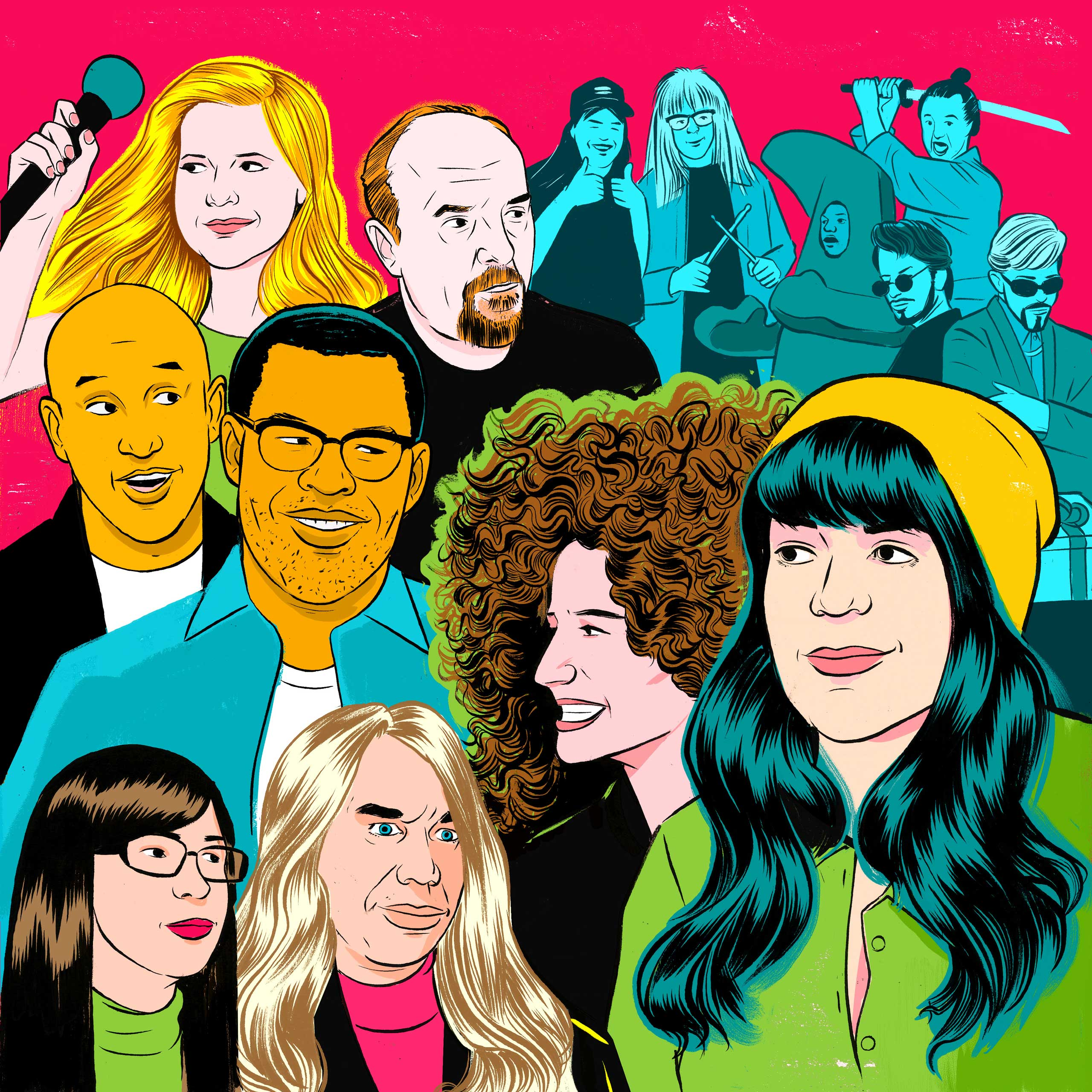 As the ghosts of SNL past recede, today's vital TV comics can be found on the likes of Inside Amy Schumer, Louie, Key and Peele, Portlandia and Broad City.