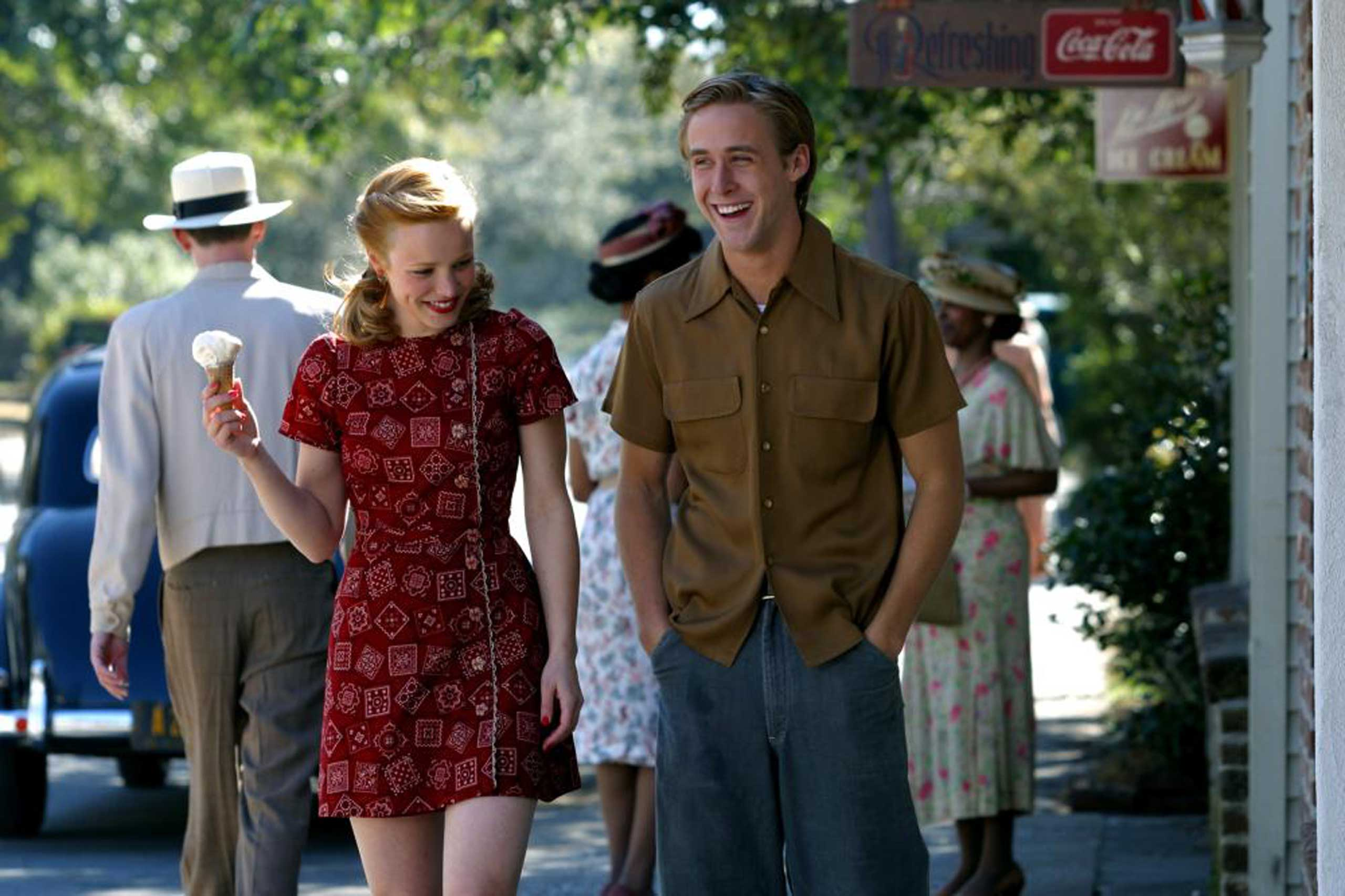 <strong>Noah and Allie - <i>The Notebook</i>, 2004</strong>