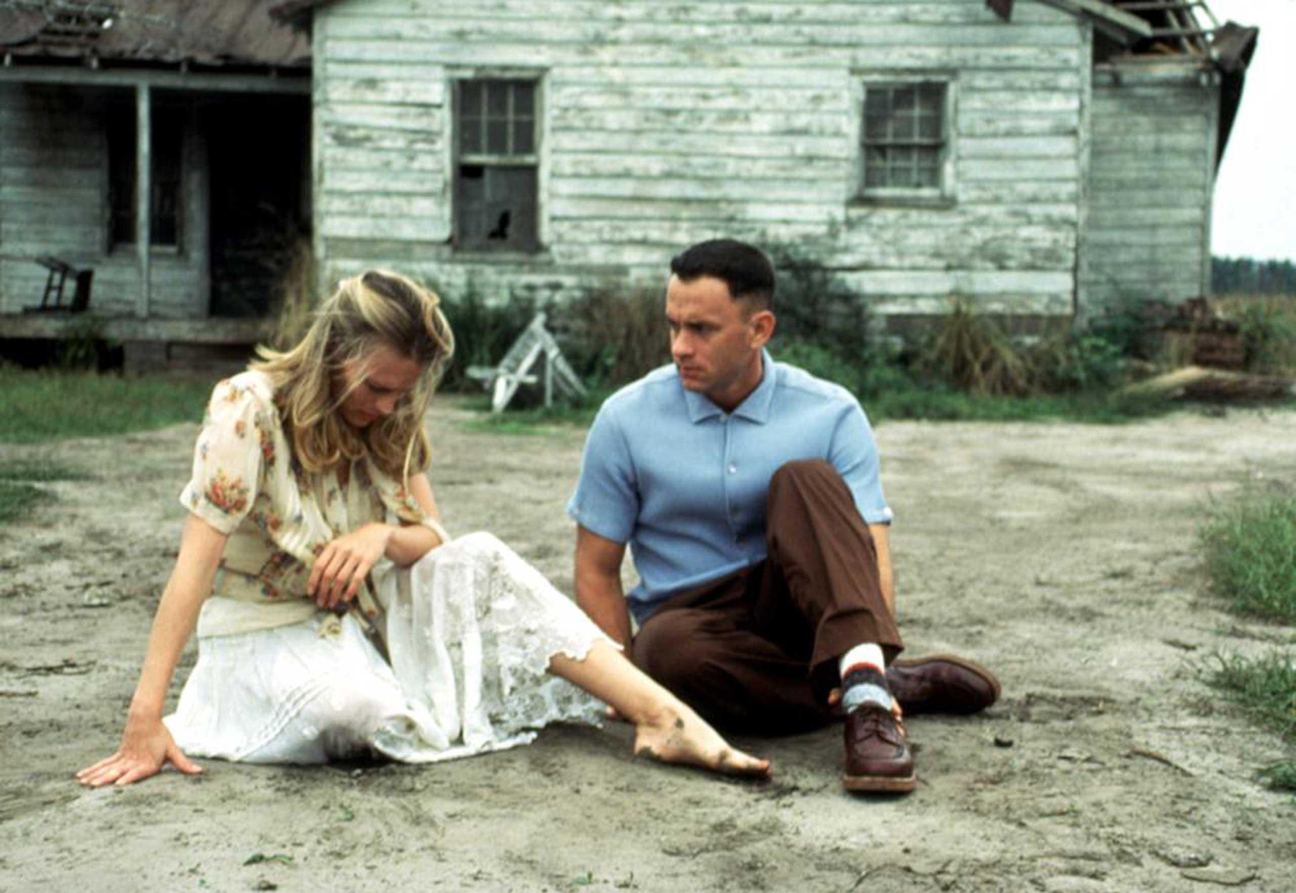 <strong>Jenny Curran and Forrest Gump - <i>Forrest Gump</i>, 1994</strong>