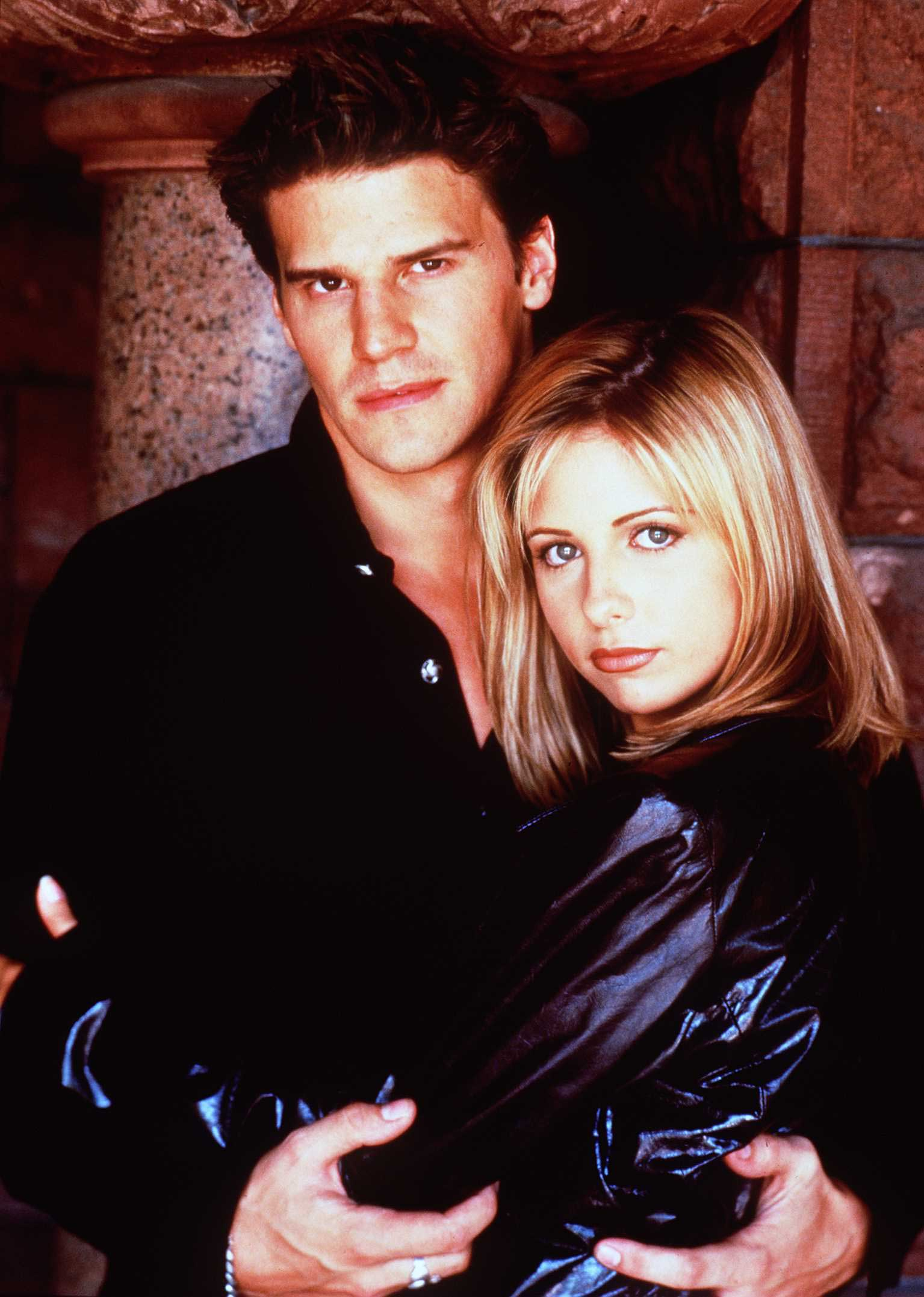 <strong>Buffy and Angel - <i>Buffy the Vampire Slayer</i>, 1997</strong>