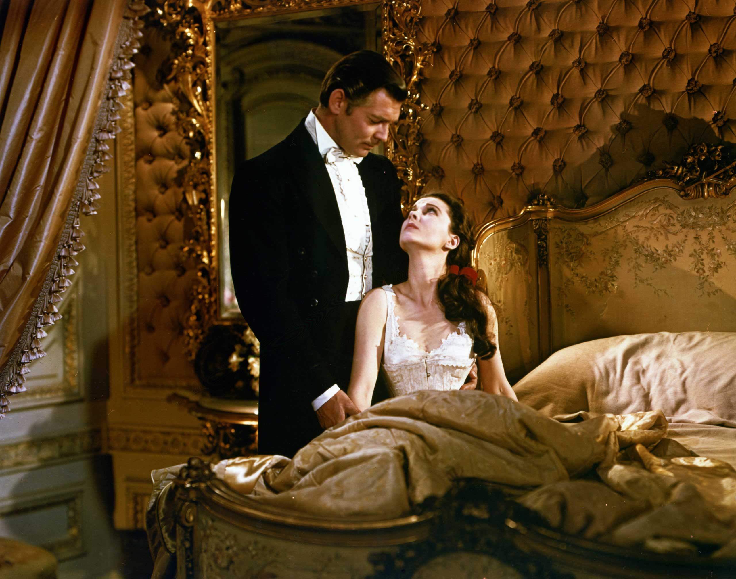<strong>Scarlett and Rhett - <i>Gone With The Wind</i>, 1939</strong>