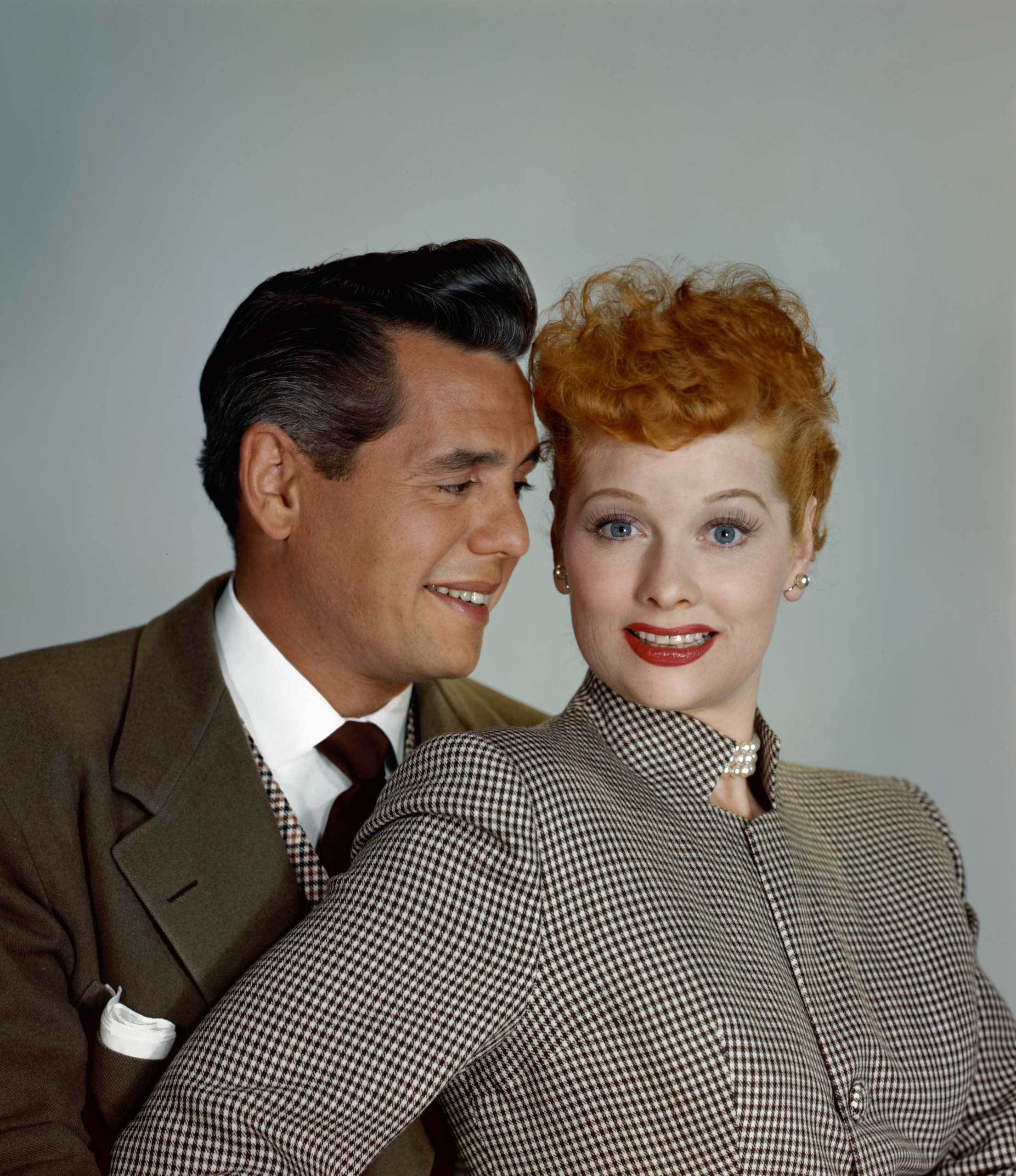 <strong>Ricky and Lucy - <i>I Love Lucy</i>, 1951</strong>
