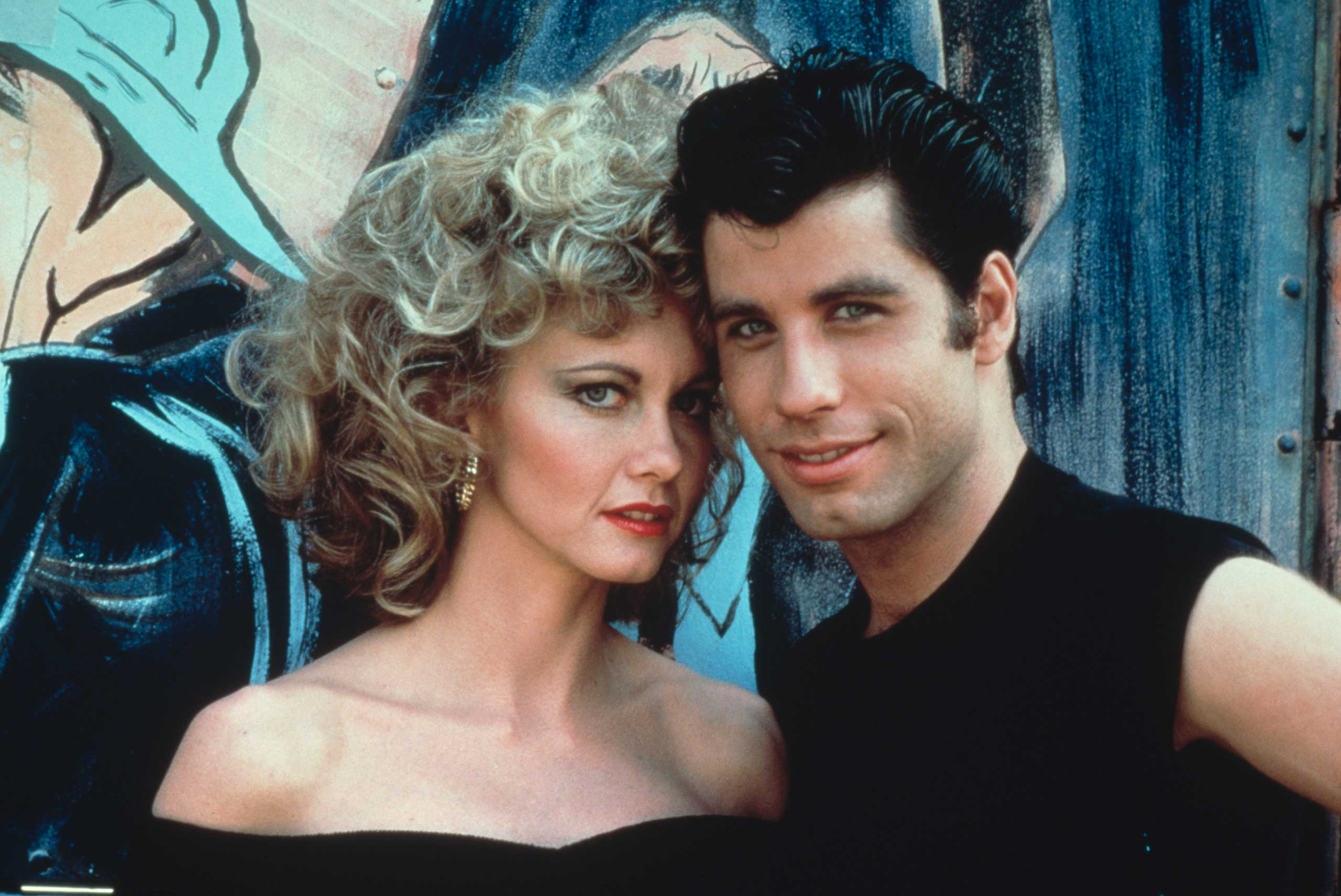 <strong>Danny Zuko and Sandy Olsen - <i>Grease</i>, 1978</strong>