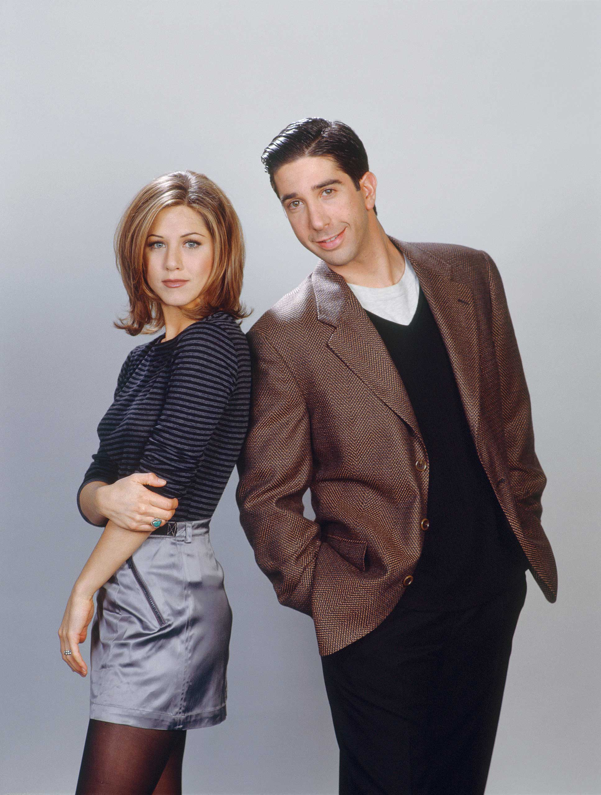 <strong>Ross and Rachel - <i>Friends</i>, 1994</strong>