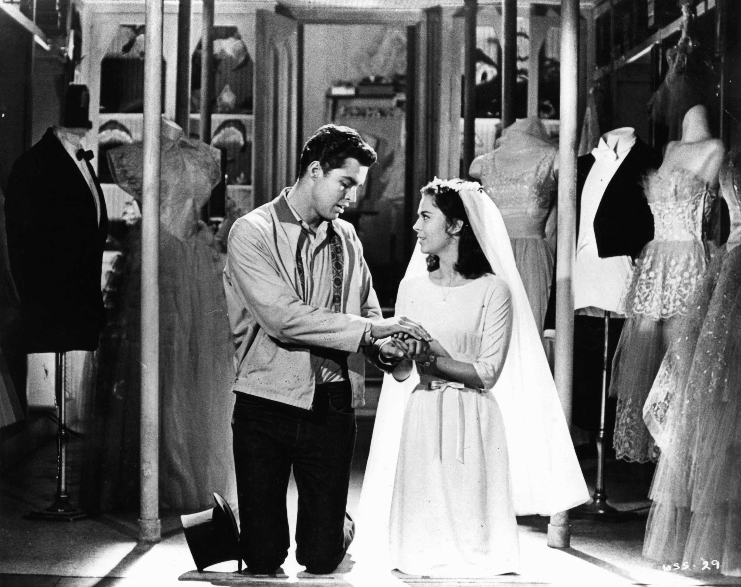<strong>Tony and Maria - <i>West Side Story</i>, 1961</strong>