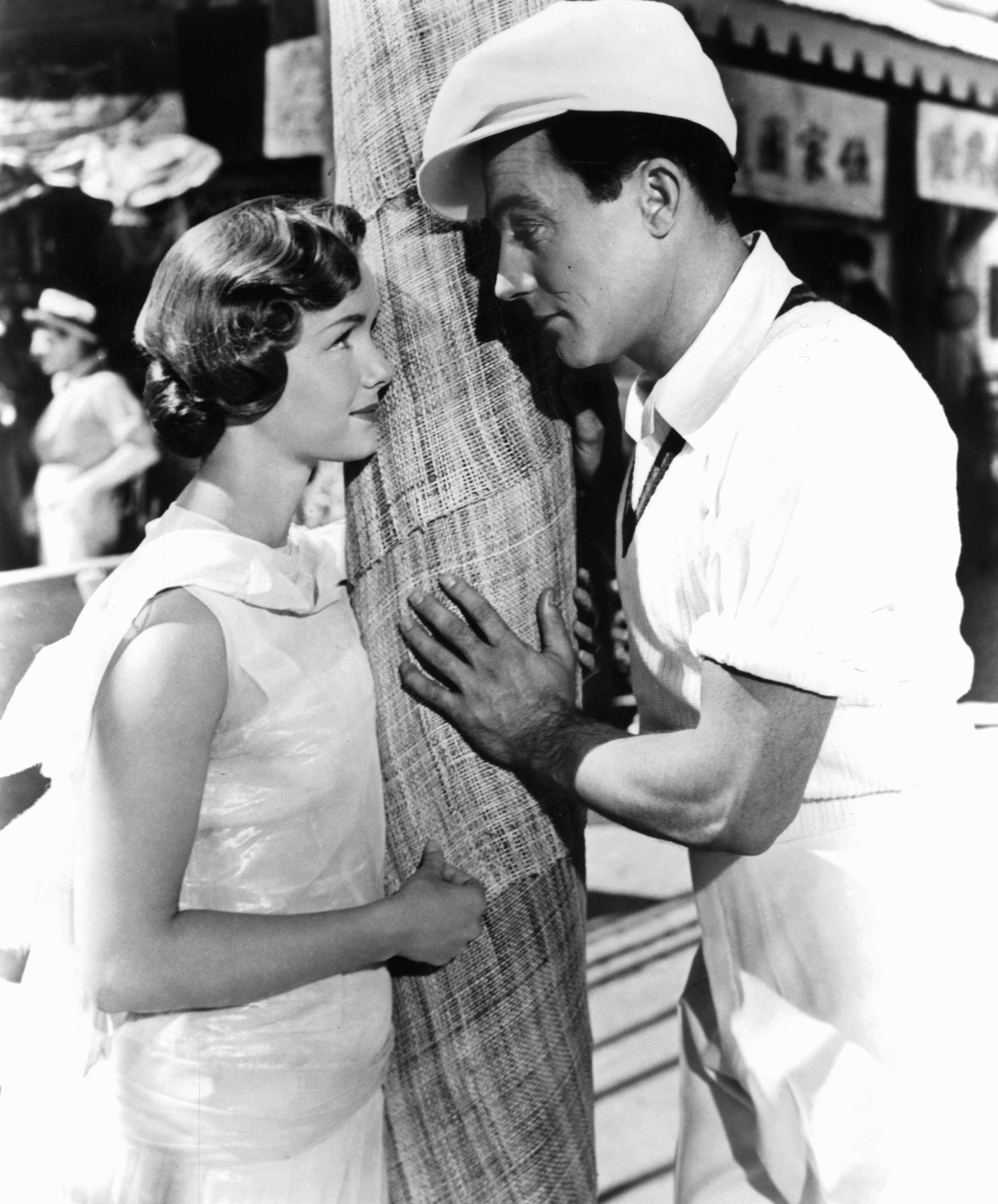 <strong>Don Lockwood and Kathy Seldon- <i>Singin' in the Rain</i>, 1952</strong>