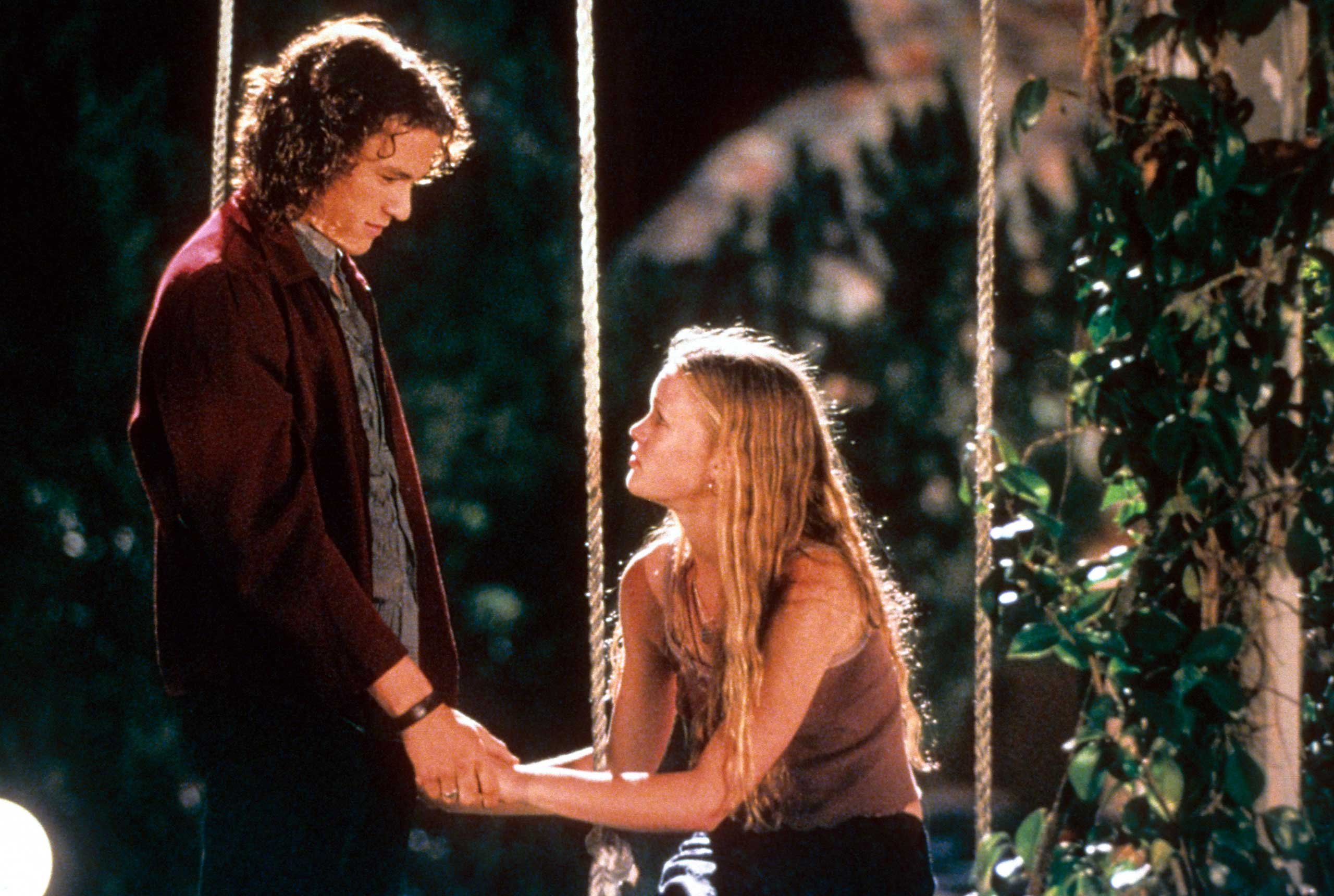 <strong>Patrick Verona and Kat Stratford - <i>10 Things I Hate About You</i>, 1999</strong>